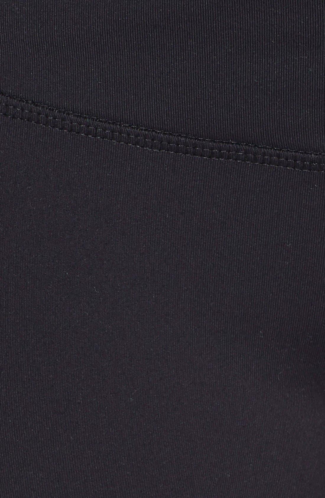 'Icon' Performance Sweatpants,                             Alternate thumbnail 4, color,                             001