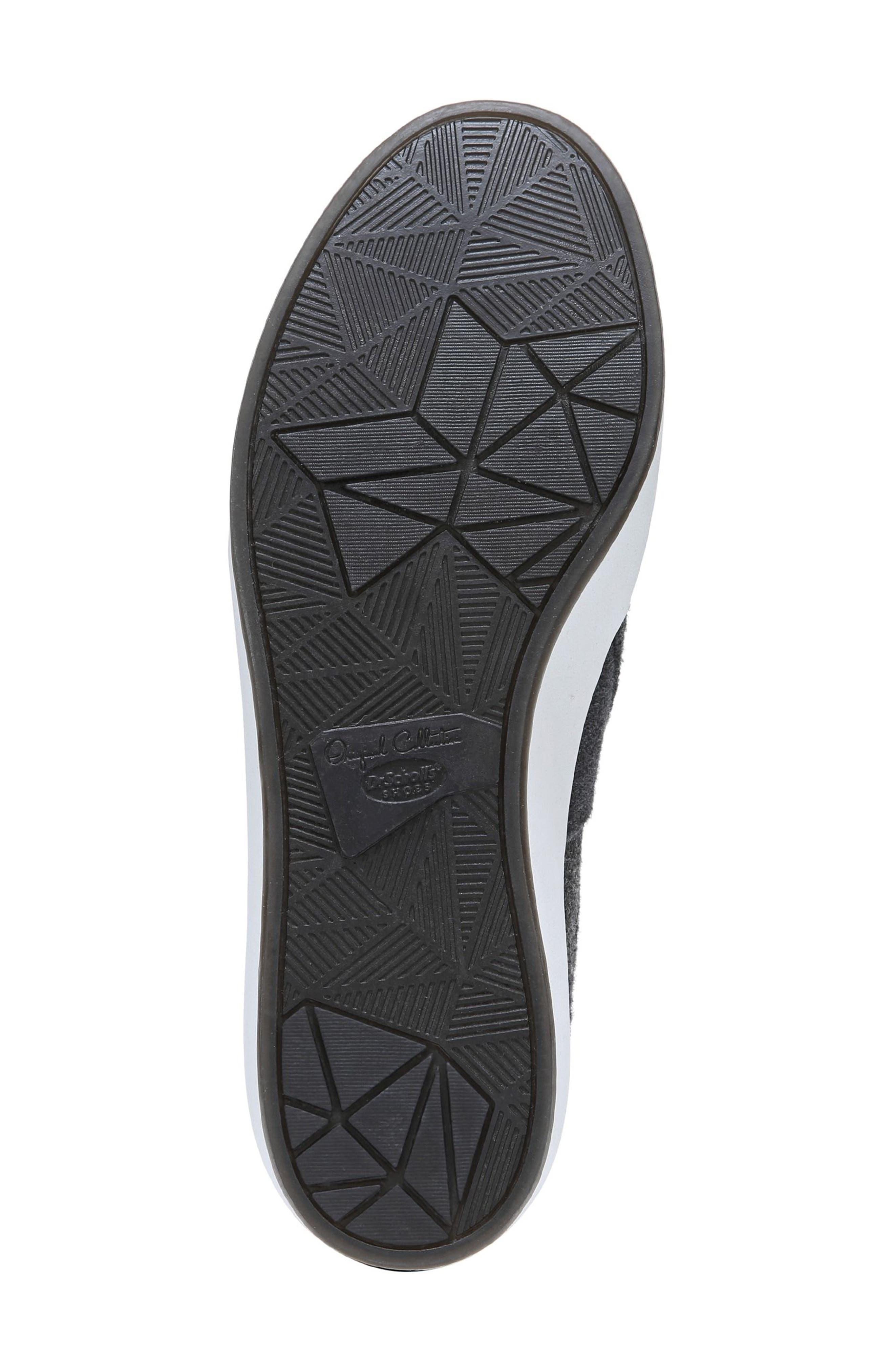 Abbot Slip-On Sneaker,                             Alternate thumbnail 5, color,                             GREY FABRIC