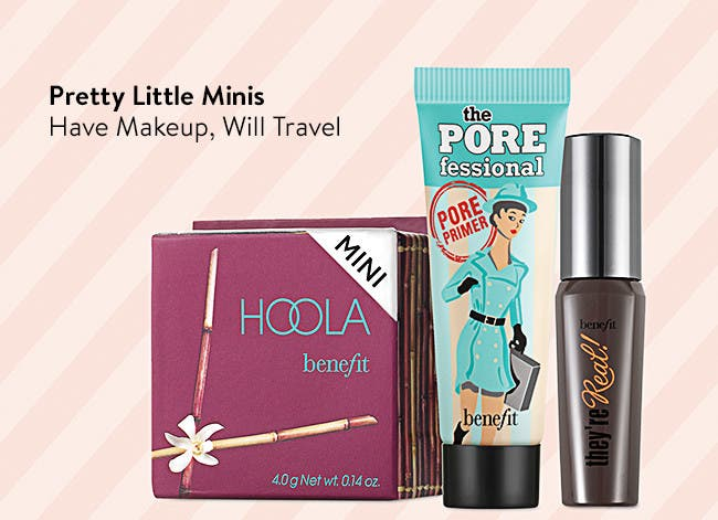 Pretty Little Minis: Travel-Size Makeup
