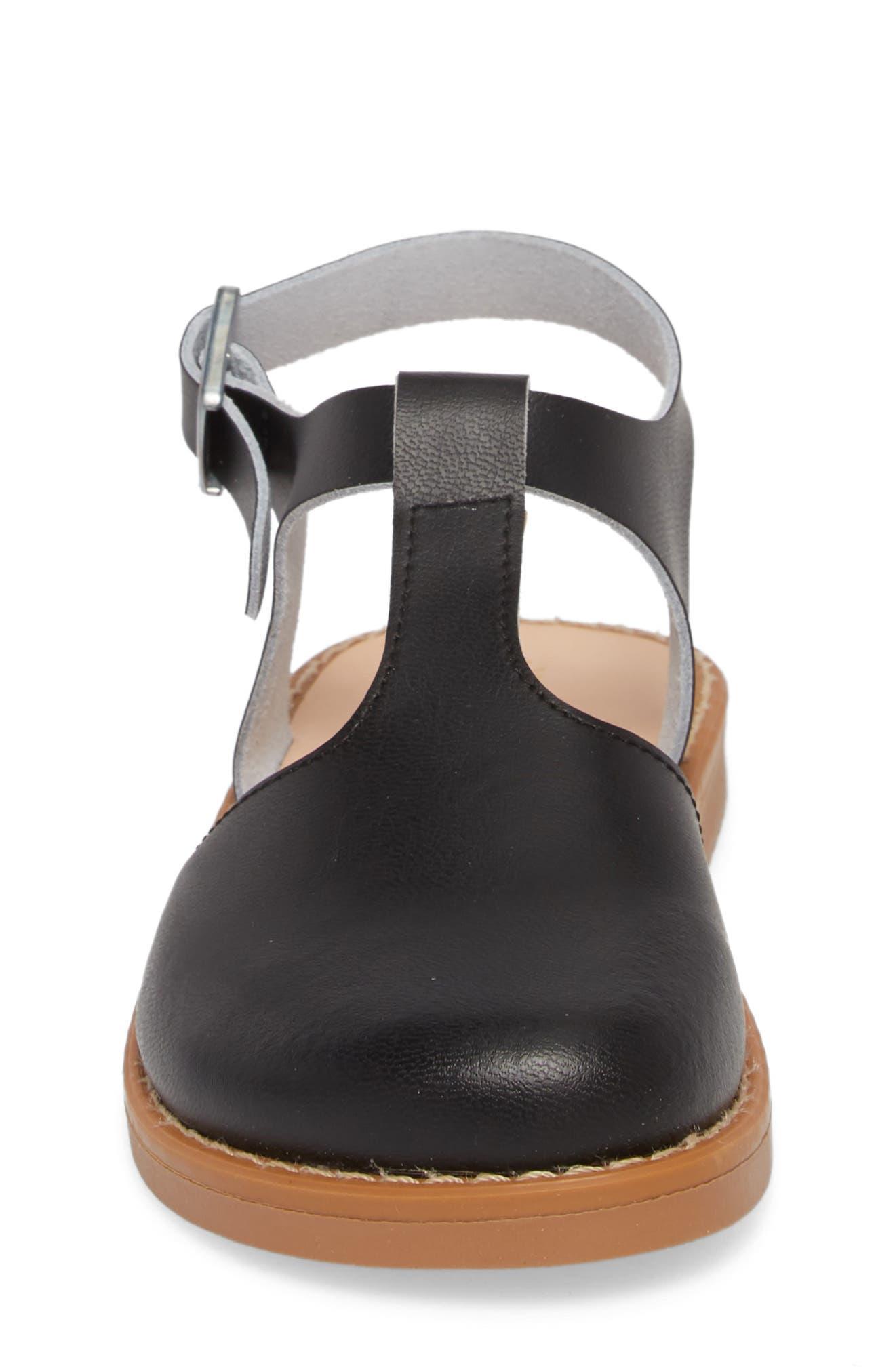 Newport Clog Sandal,                             Alternate thumbnail 4, color,                             BLACK