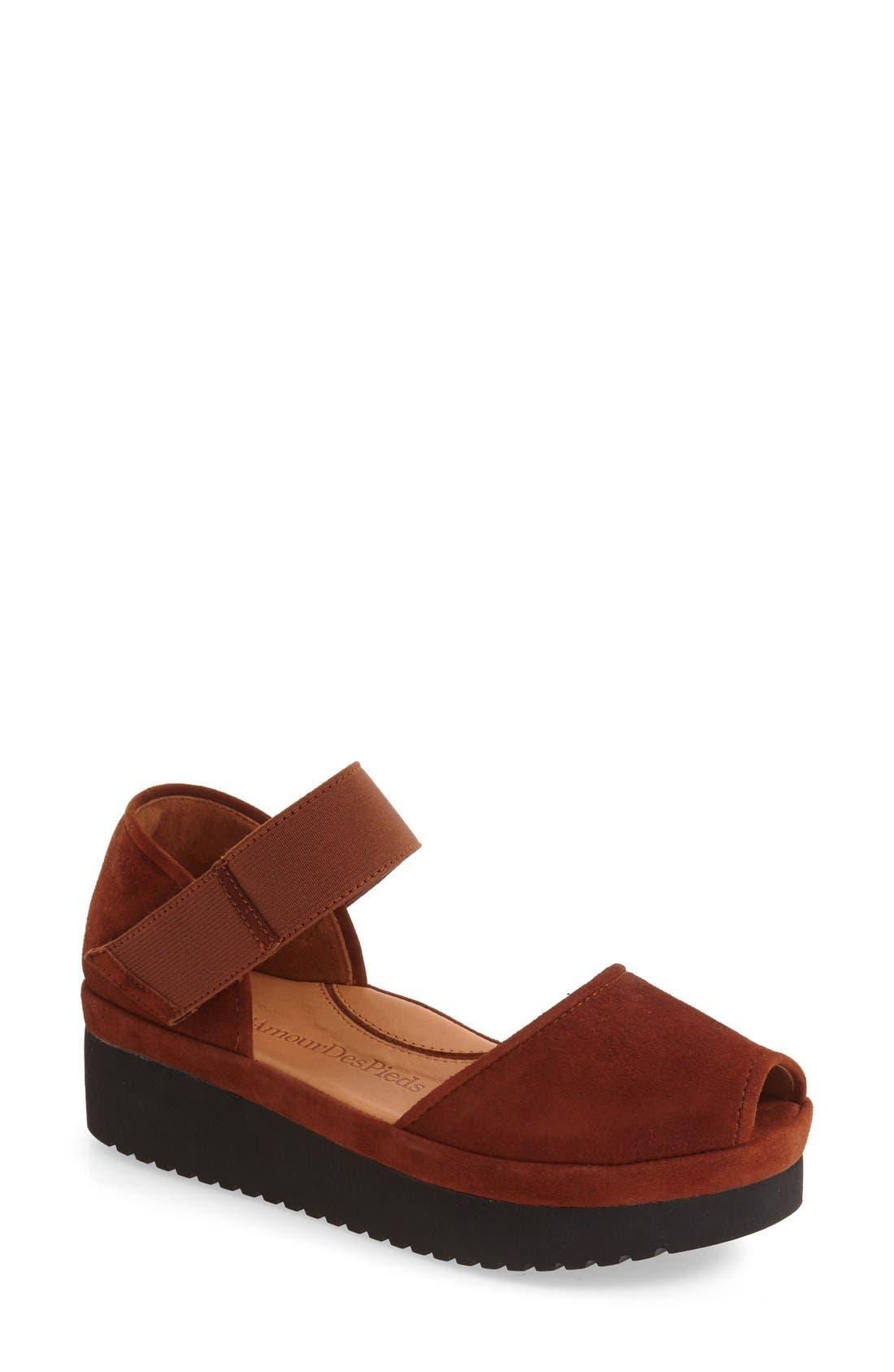 'Amadour' Platform Sandal,                             Main thumbnail 6, color,