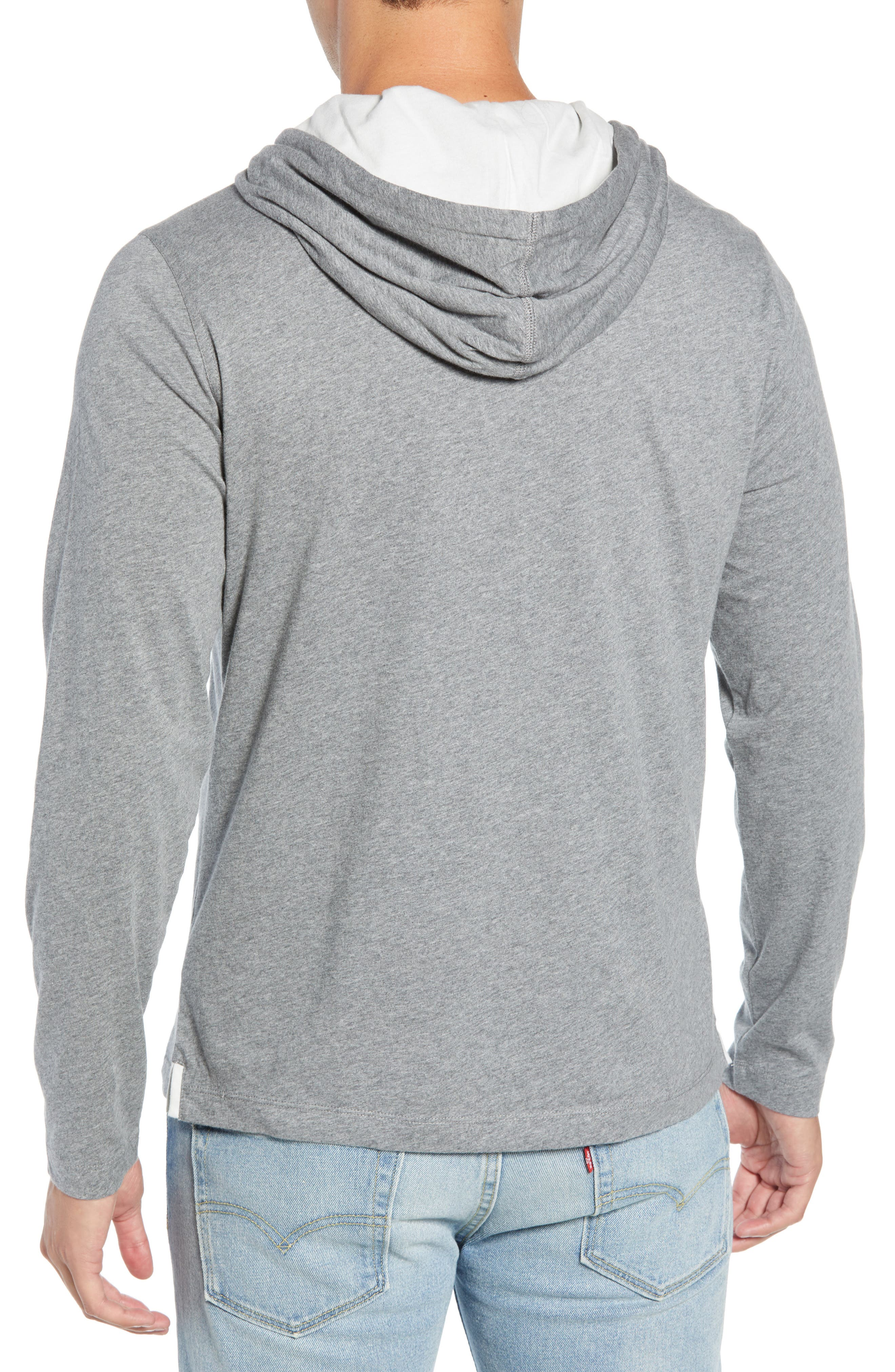 Carl Pullover Hoodie,                             Alternate thumbnail 2, color,                             MID GREY