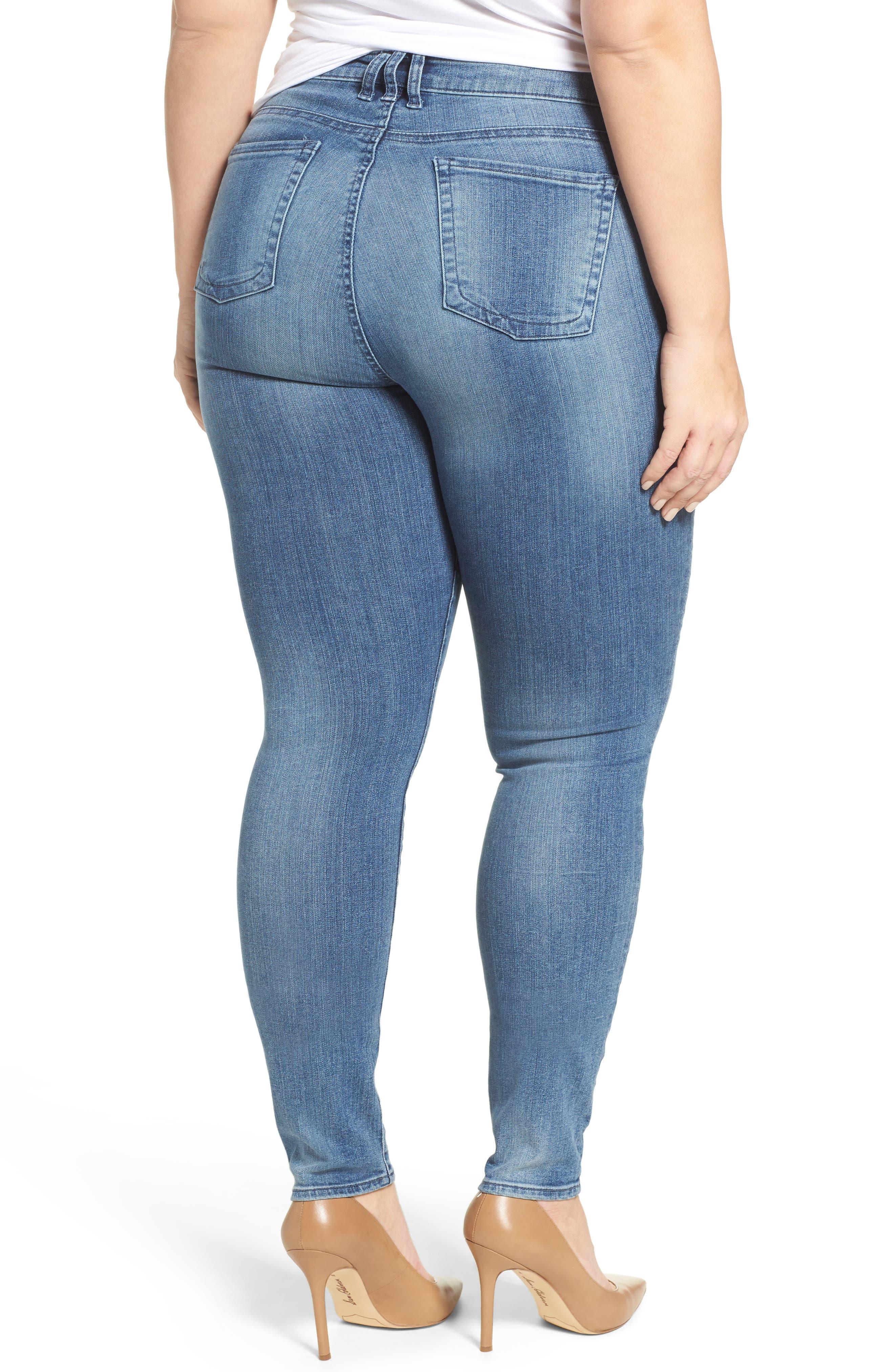 Diana Skinny Jeans,                             Alternate thumbnail 2, color,