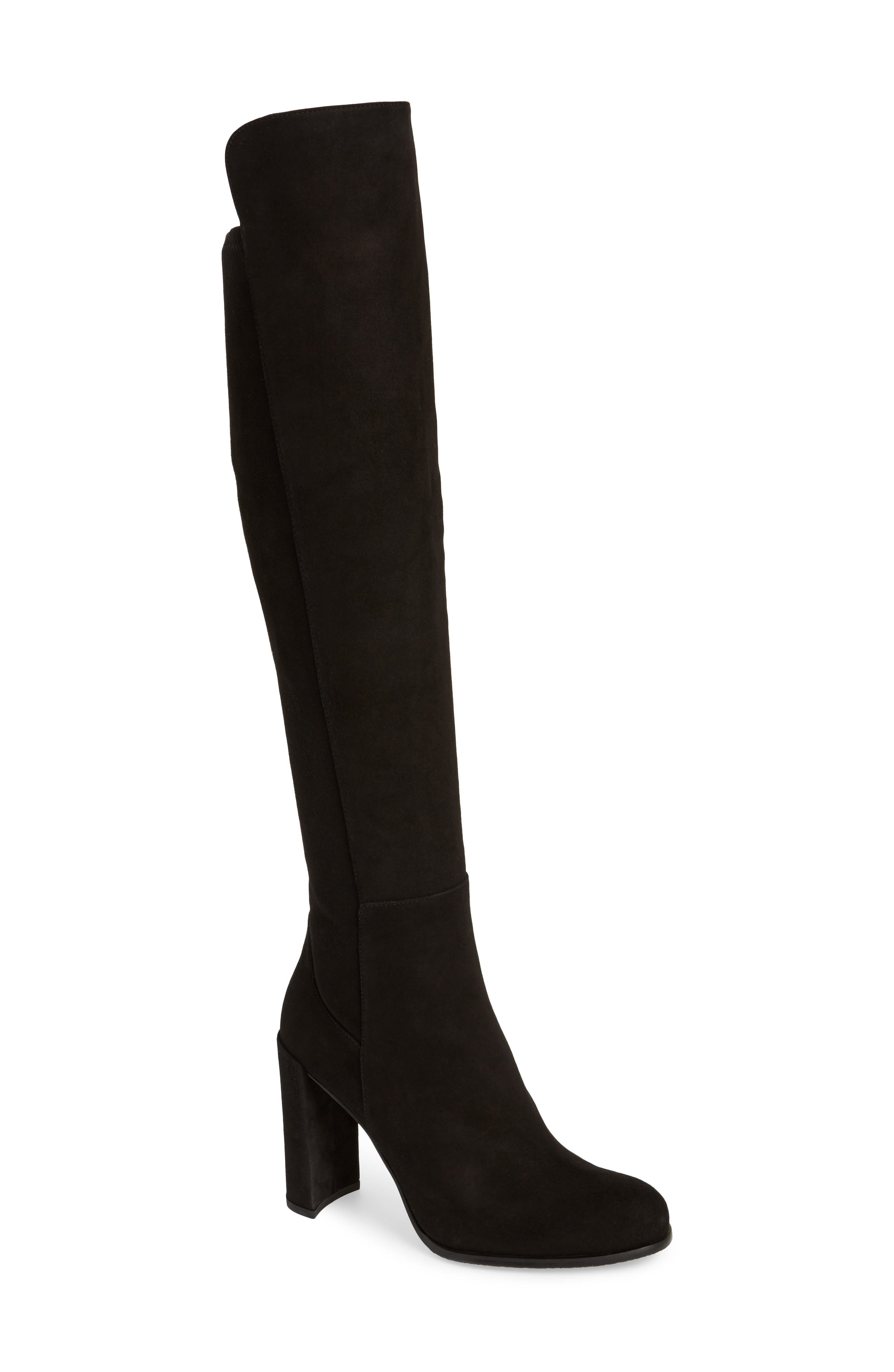 Alljill Over the Knee Boot,                             Main thumbnail 1, color,                             001