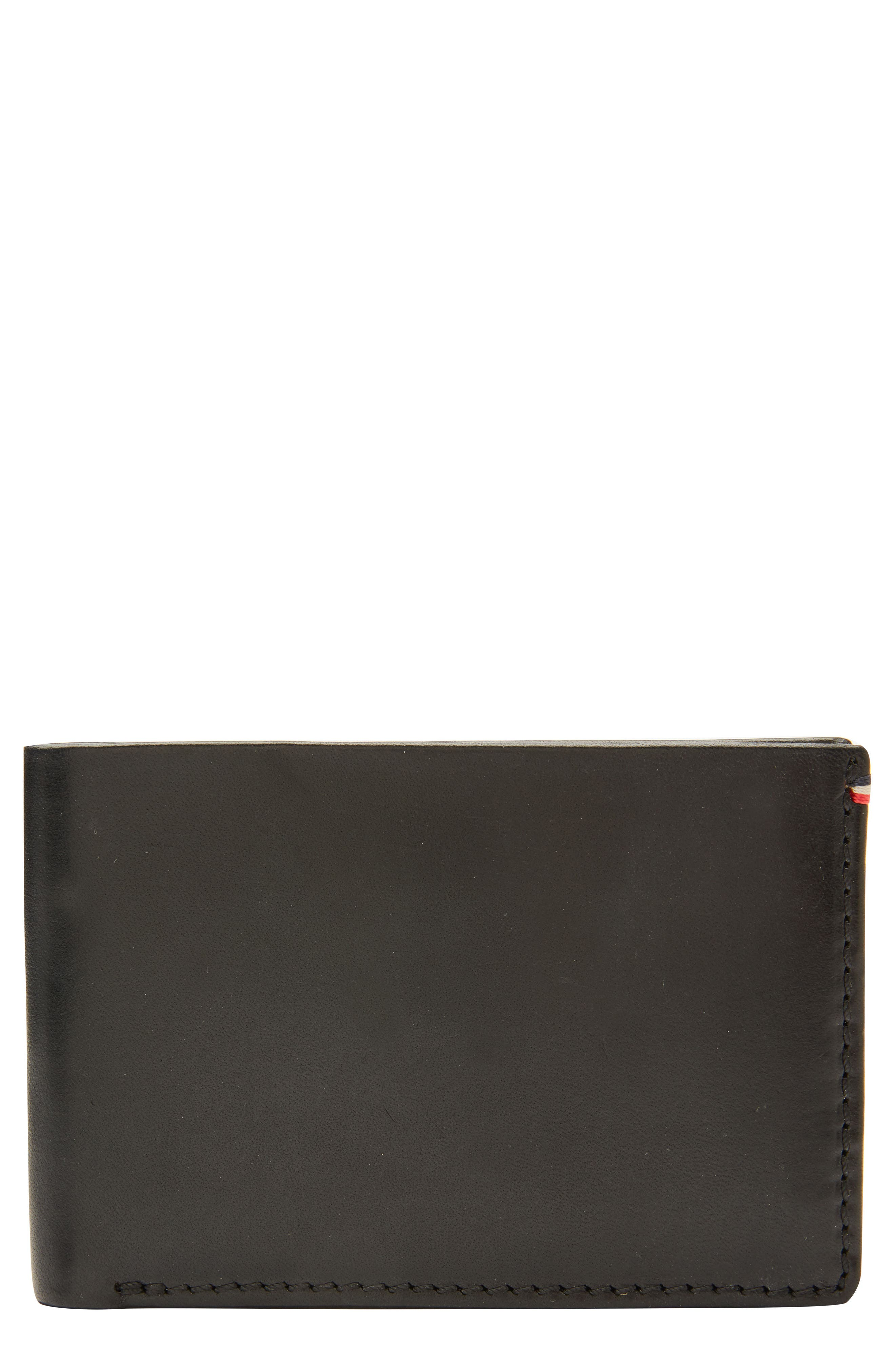 Core Slim Bifold Leather Wallet,                         Main,                         color, 001