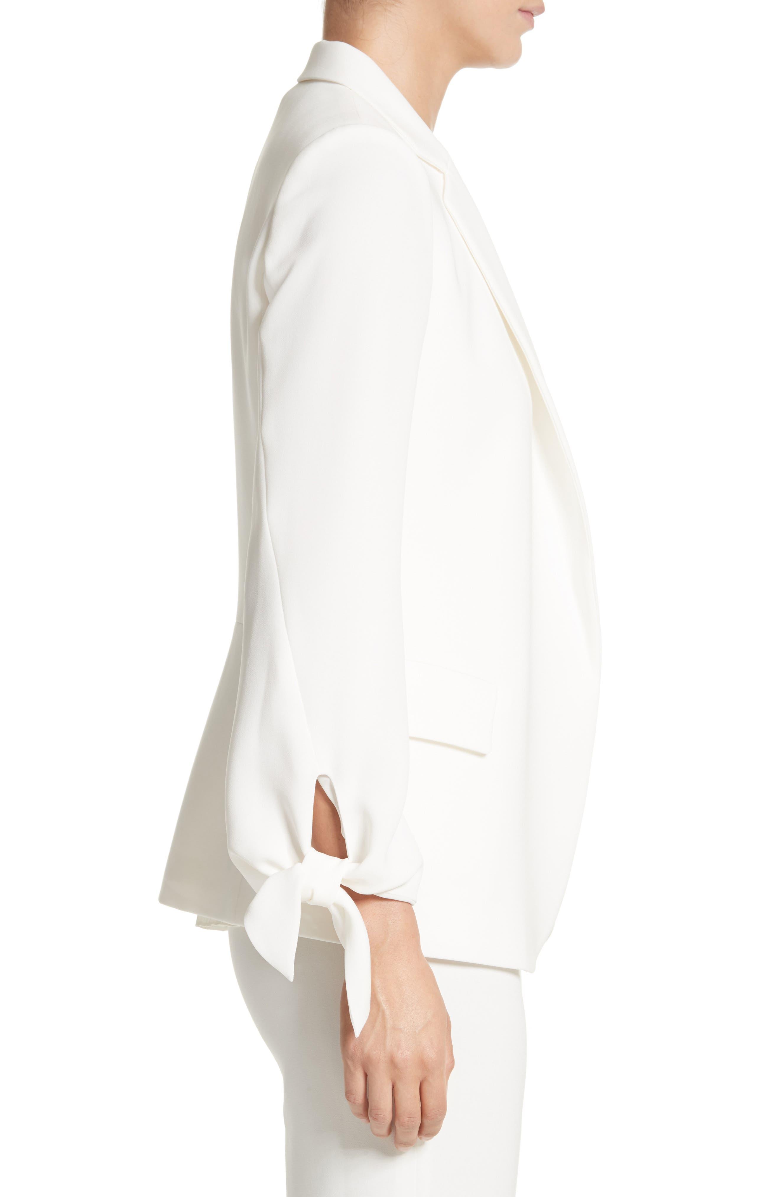 Bria Finesse Crepe Jacket,                             Alternate thumbnail 3, color,                             141