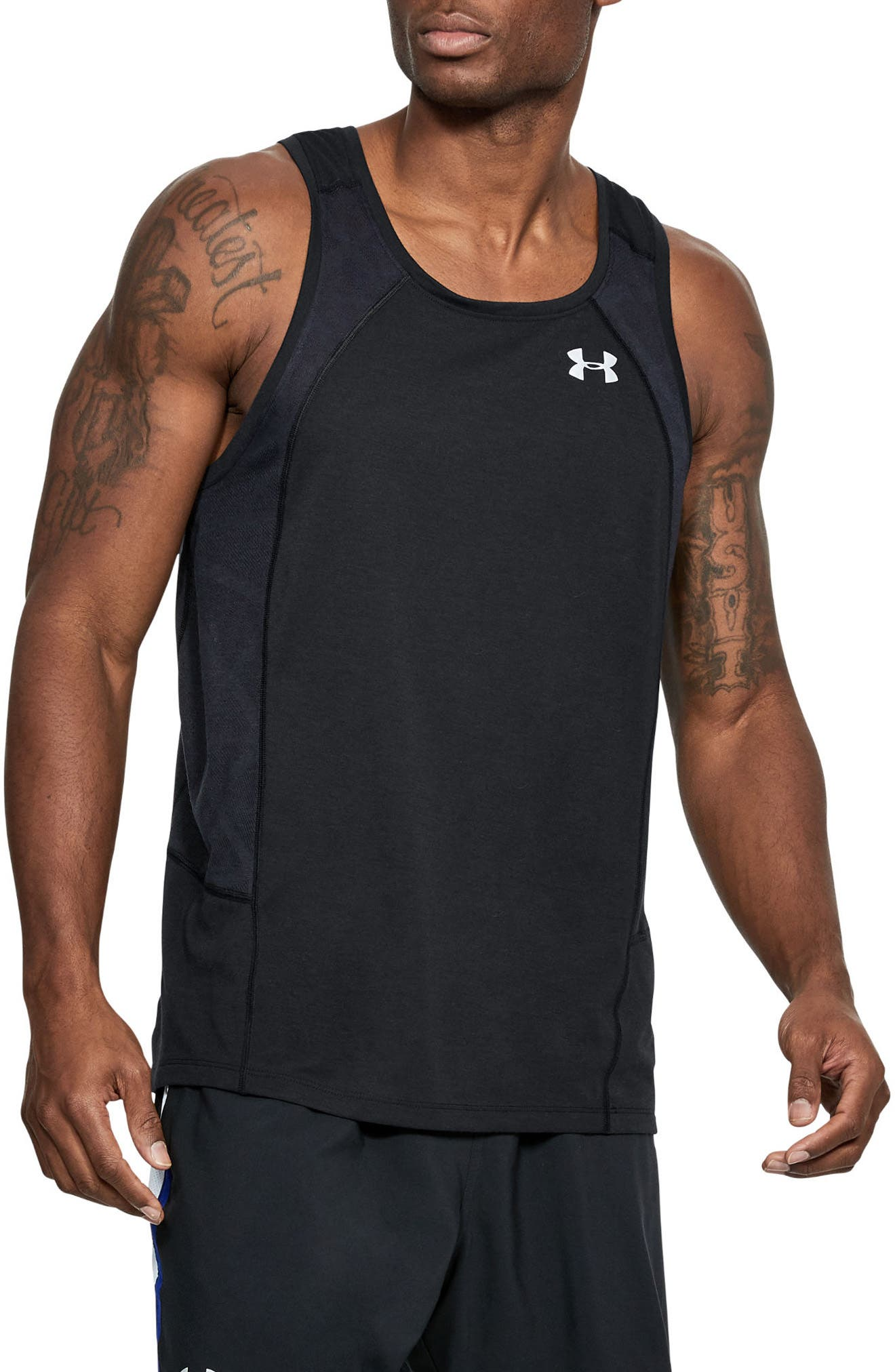 Threaborne Swyft Regular Fit Tank,                             Main thumbnail 1, color,                             001