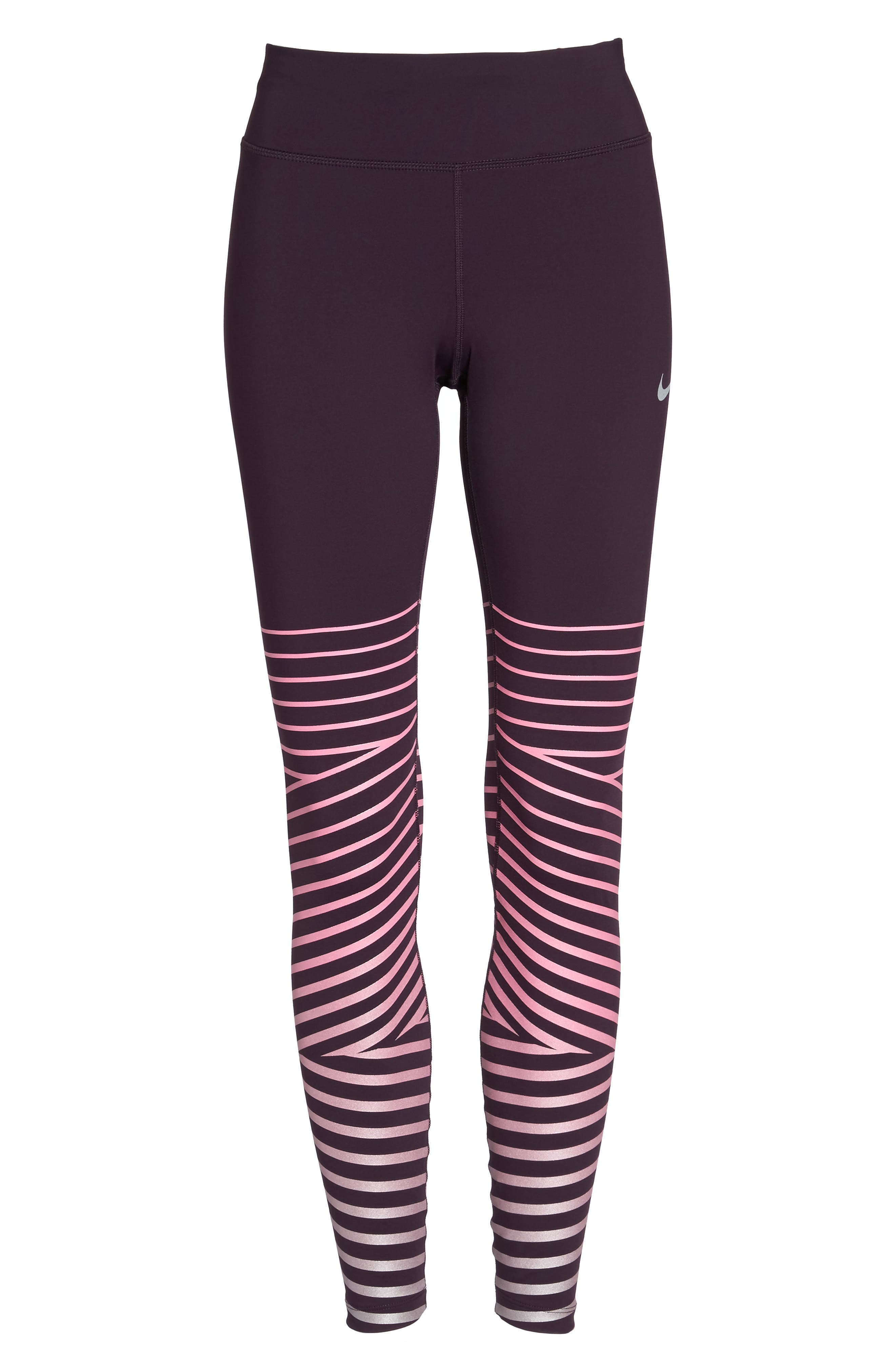 Power Epic Lux Flash Running Tights,                             Alternate thumbnail 20, color,
