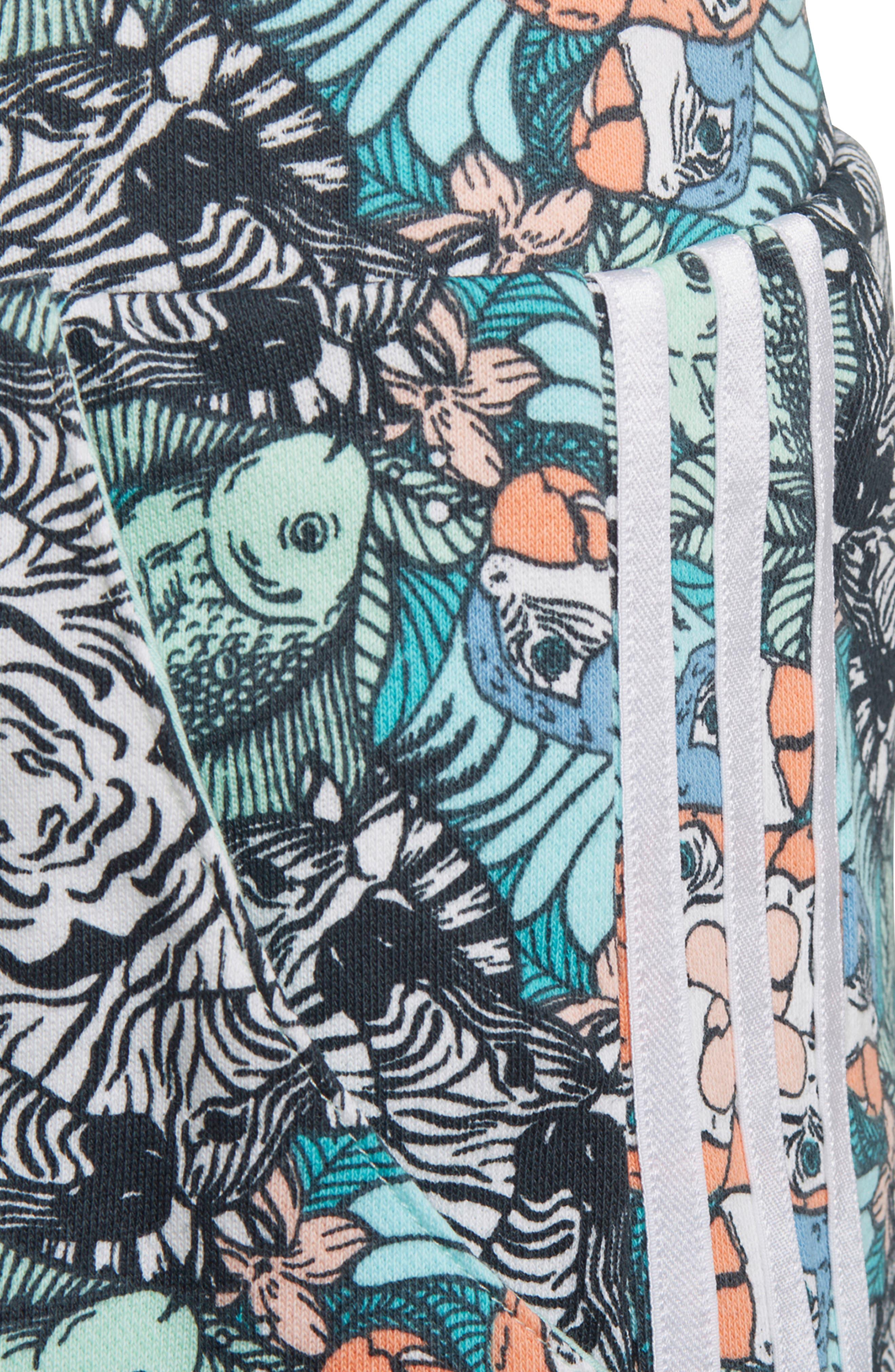 Zoo Shorts,                             Alternate thumbnail 6, color,                             MULTI-COLOR / WHITE