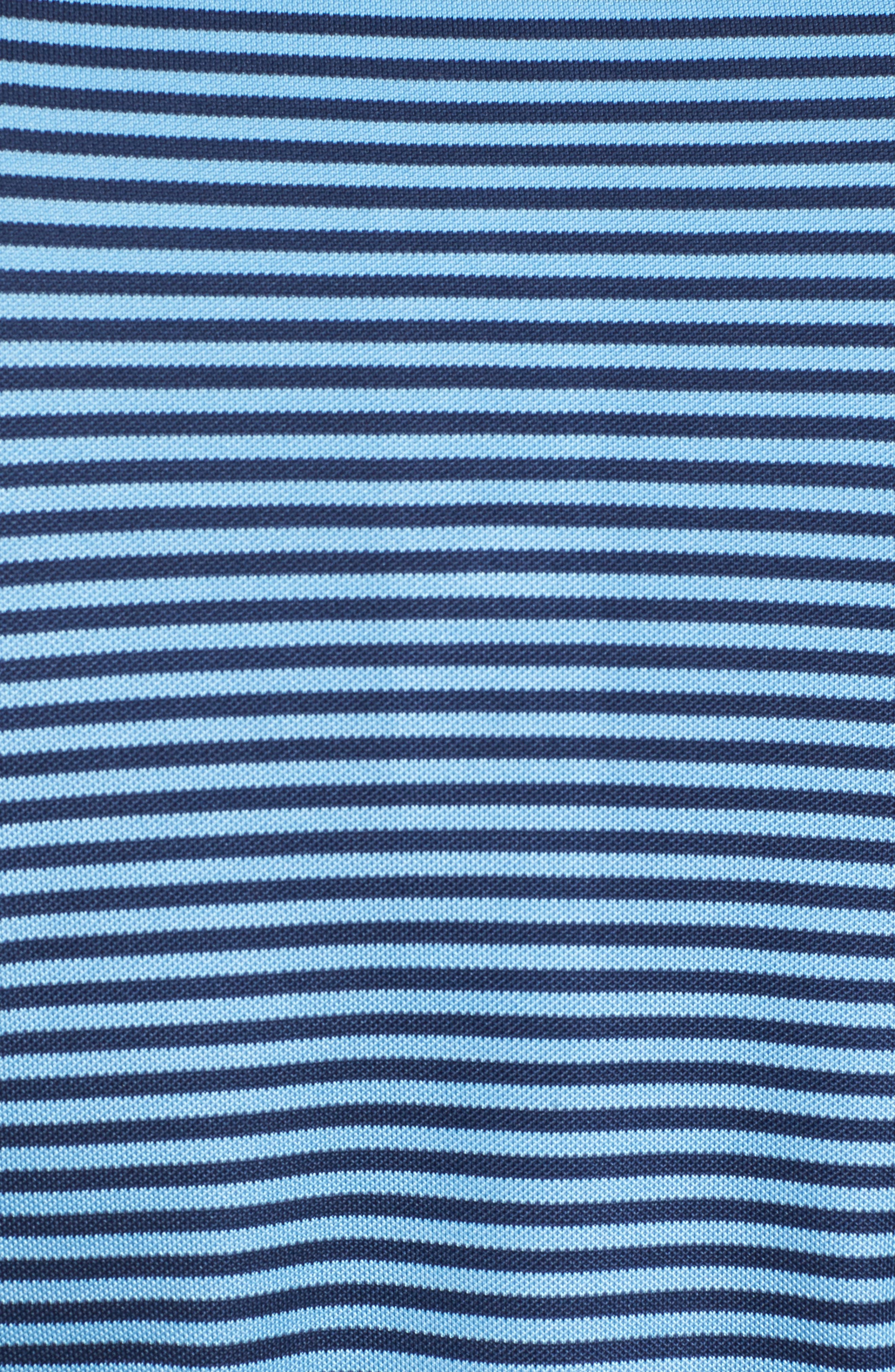 XH2O Feed Stripe Stretch Golf Polo,                             Alternate thumbnail 78, color,