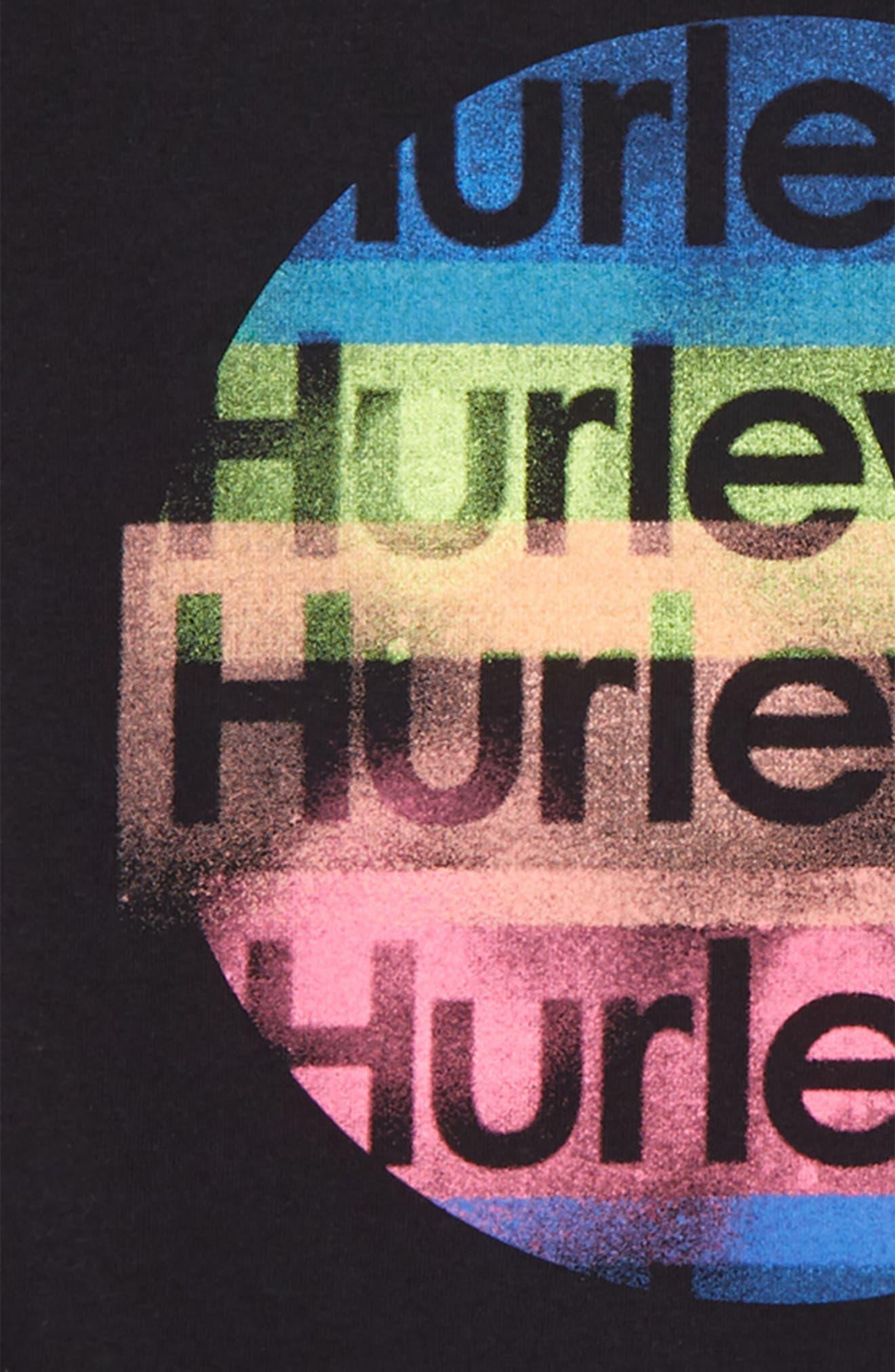 HURLEY,                             Sprayder 20 Graphic T-Shirt,                             Alternate thumbnail 2, color,                             003