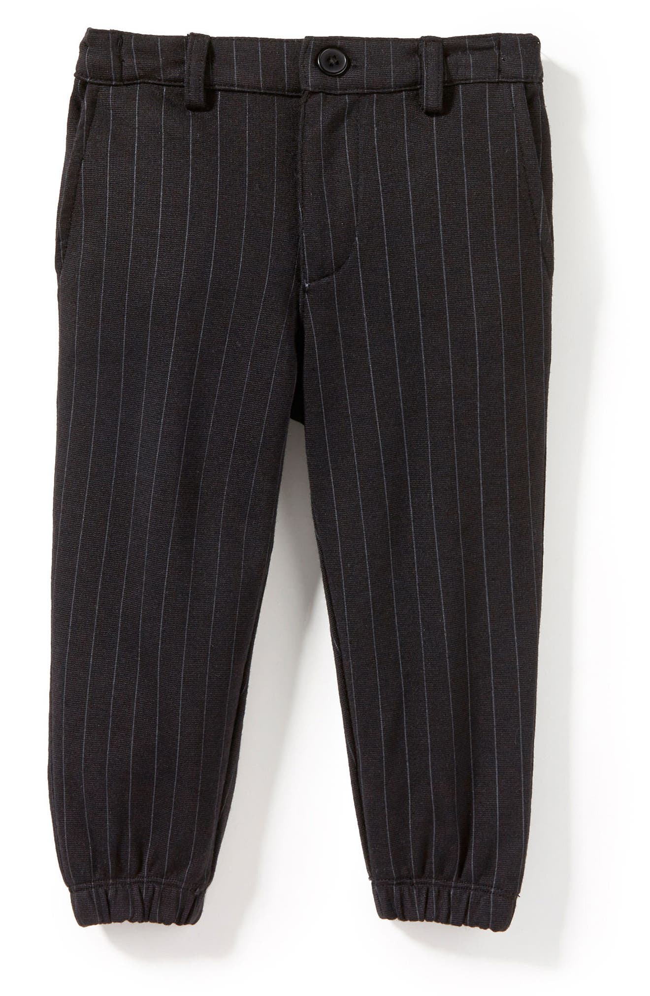 Pinstripe Jogger Pants,                         Main,                         color, 001