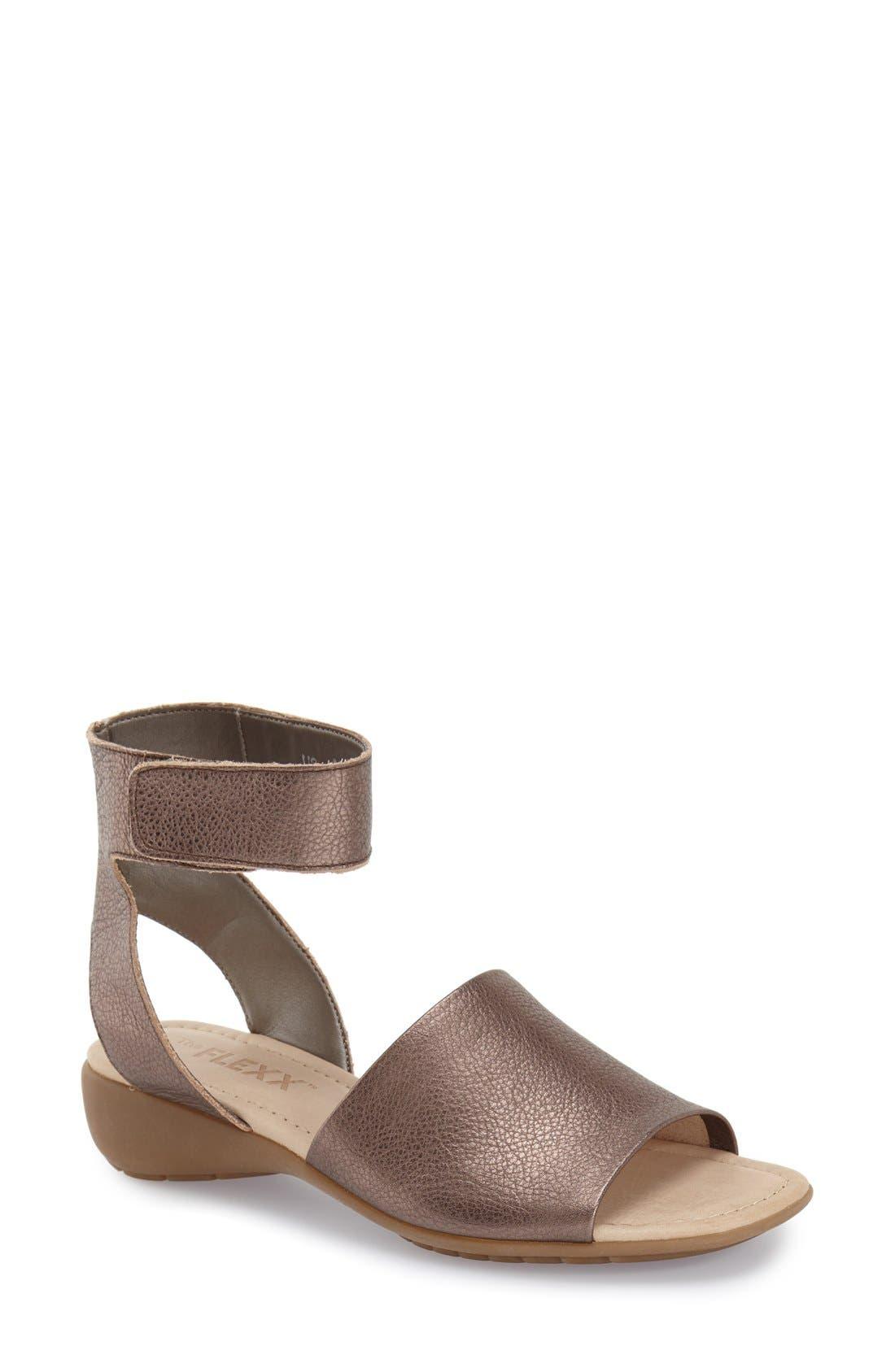 'Beglad' Leather Ankle Strap Sandal,                             Main thumbnail 8, color,