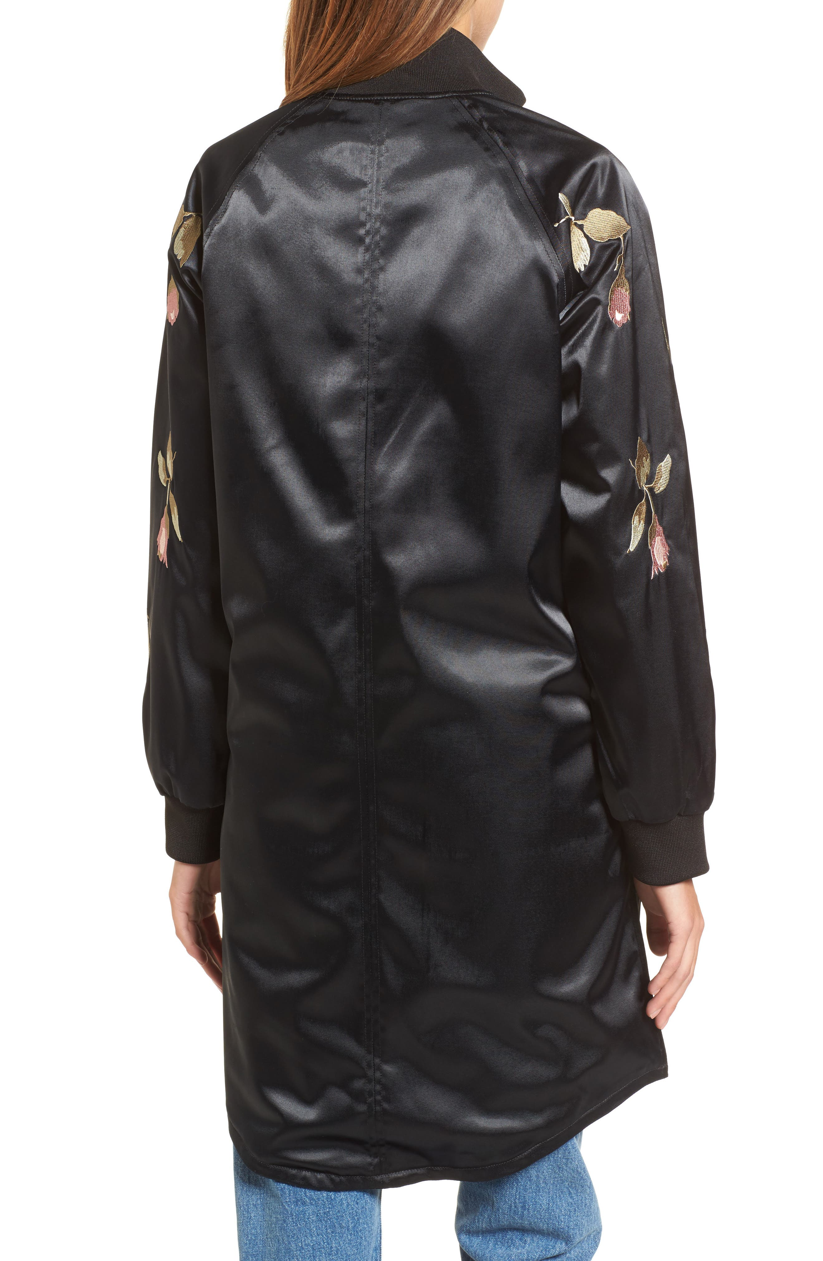 Embroidered Jacket,                             Alternate thumbnail 2, color,                             001