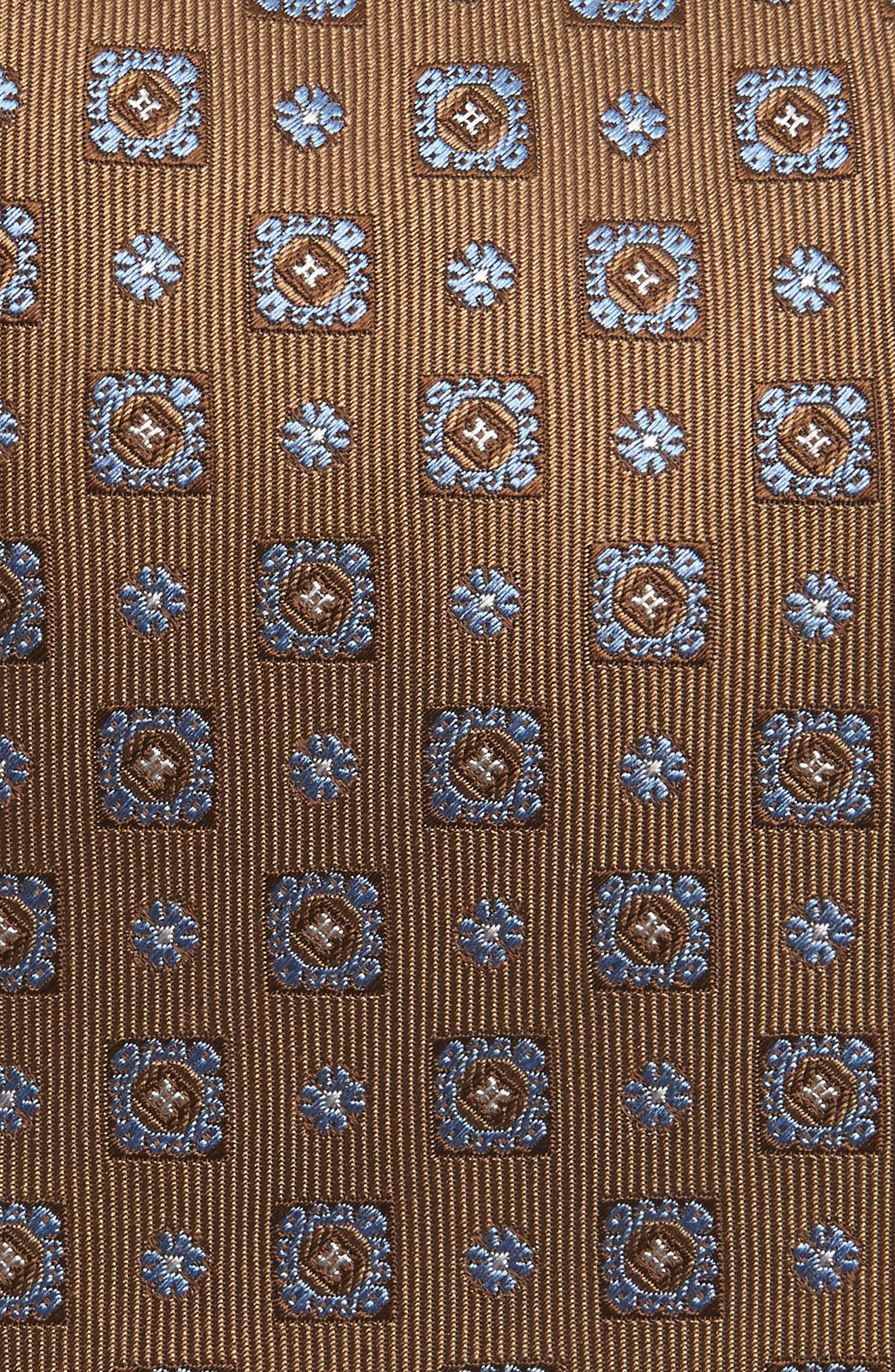 Medallion Silk Tie,                             Alternate thumbnail 2, color,                             212