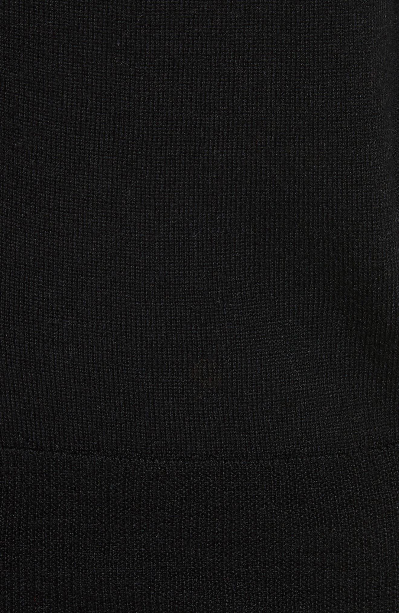 Primrose Embroidered Back Cardigan,                             Alternate thumbnail 5, color,                             006