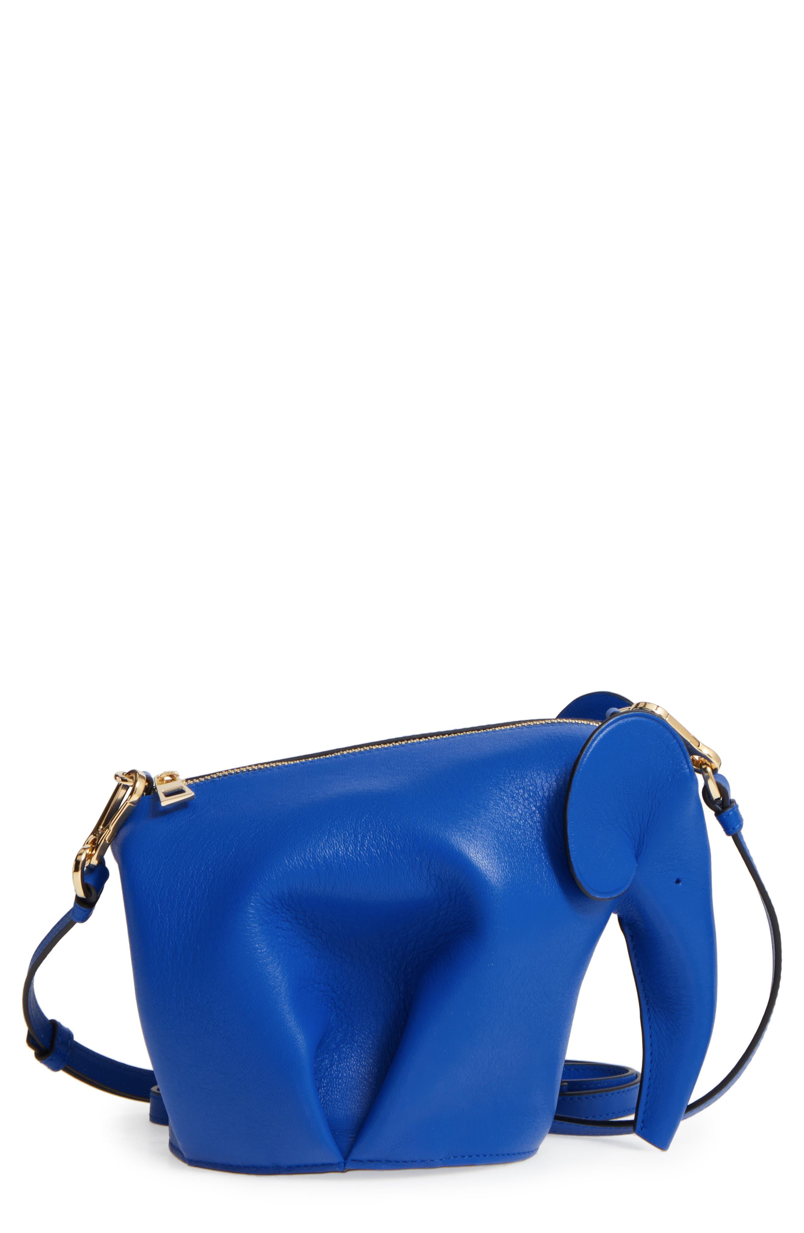'Mini Elephant' Crossbody Bag,                             Main thumbnail 5, color,