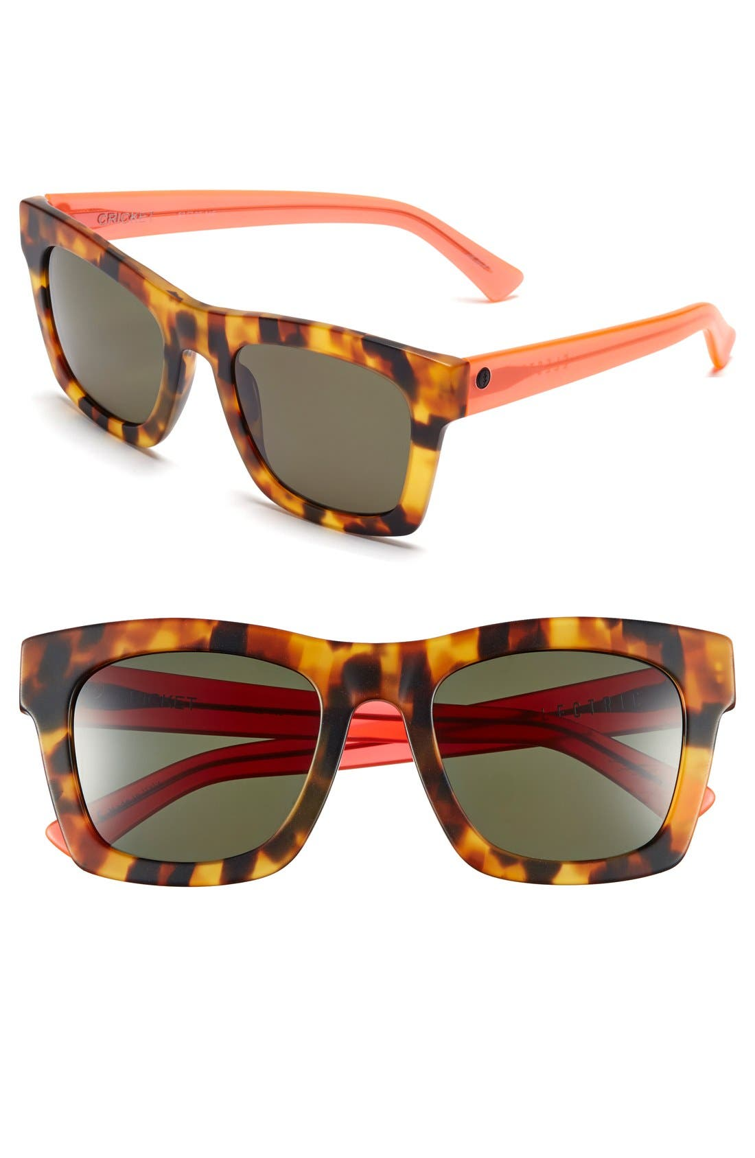 'Crasher' 53mm Retro Sunglasses,                             Main thumbnail 4, color,