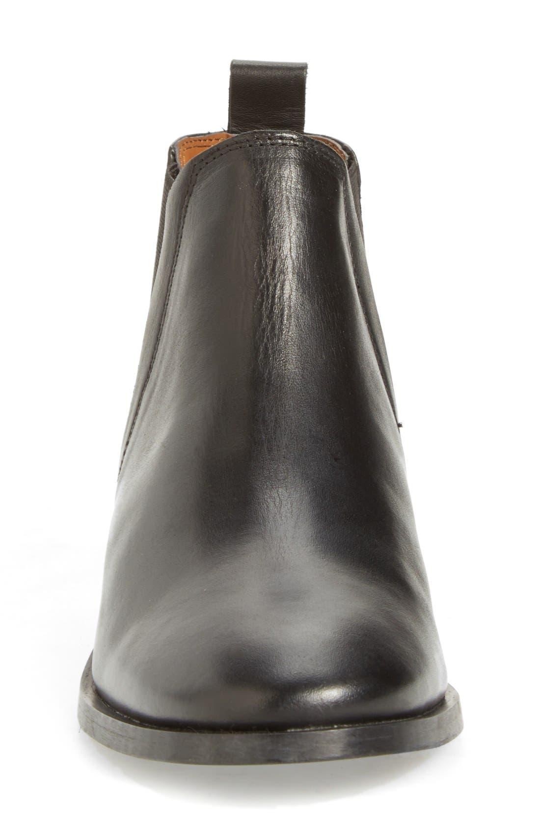 'Kaiser' Chelsea Boot,                             Alternate thumbnail 6, color,                             001