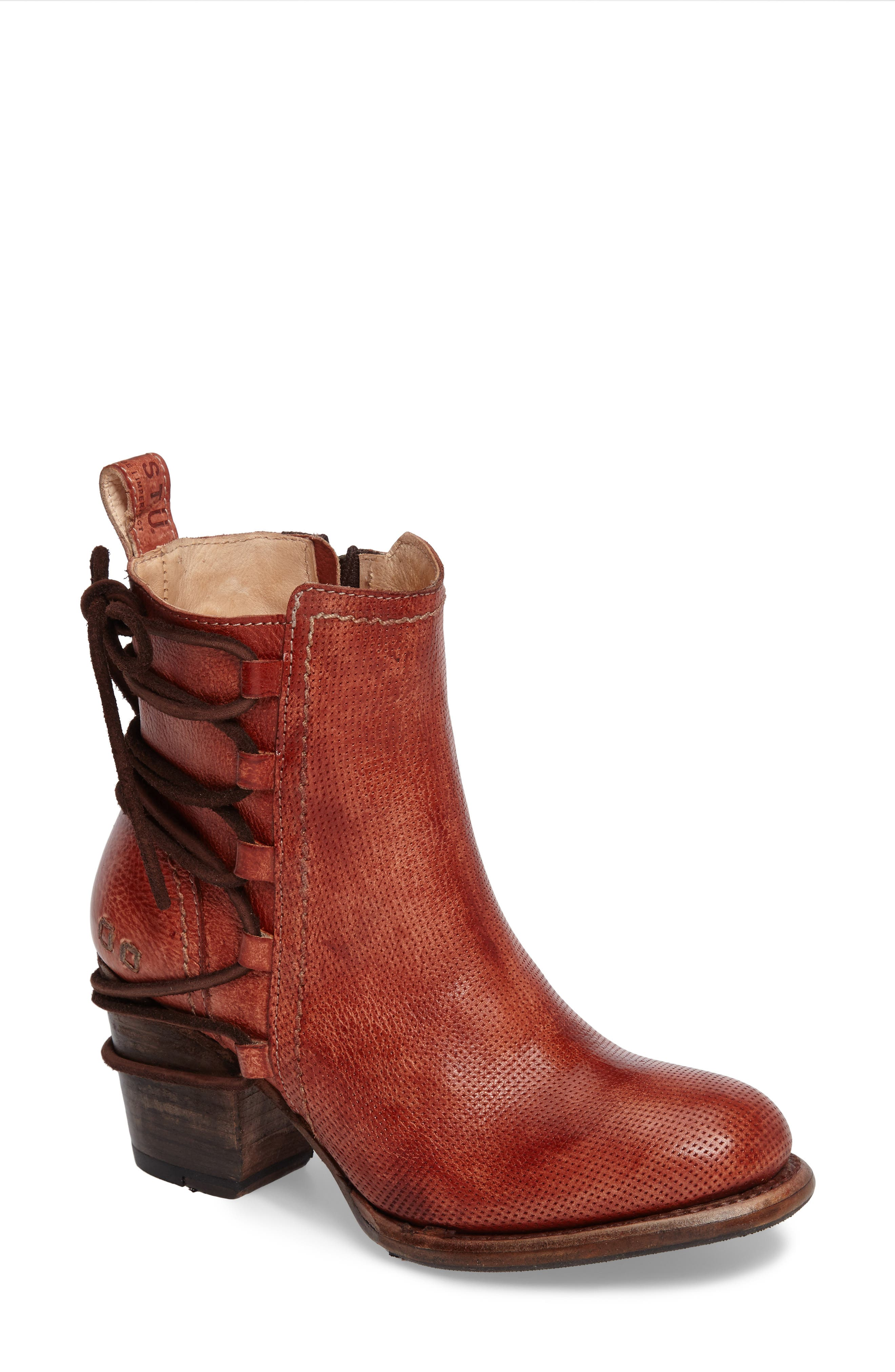 Blaire Bootie,                         Main,                         color, ADOBE DRIFTWOOD