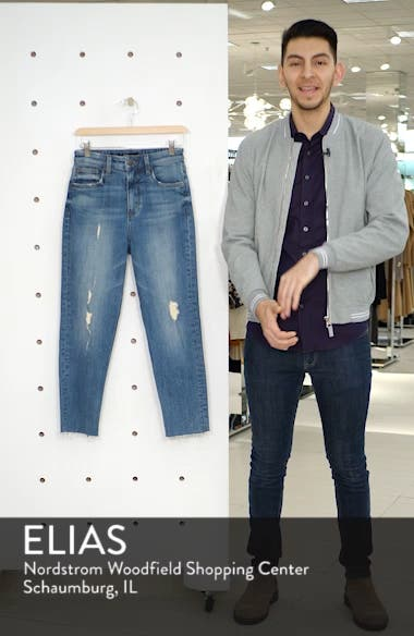 STS Blue Alicia Crop Mom Jeans, sales video thumbnail