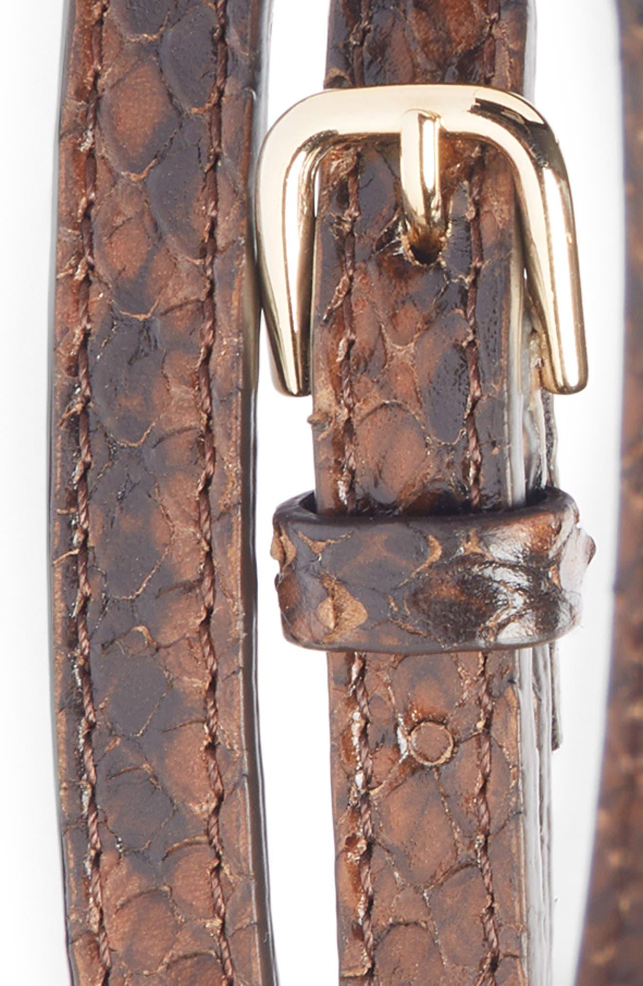 Croc Embossed Skinny Belt,                             Alternate thumbnail 2, color,                             200