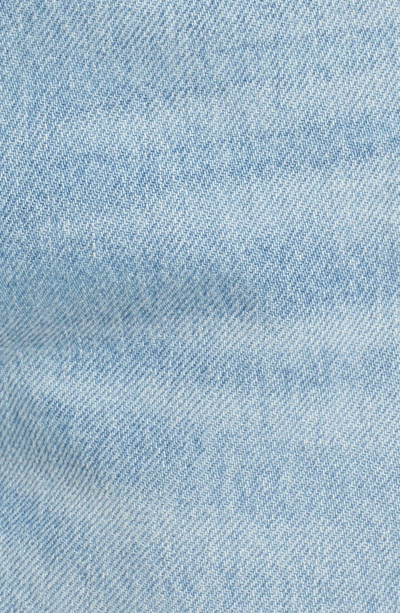 Jamie High Waist Ankle Jeans,                             Alternate thumbnail 6, color,                             453