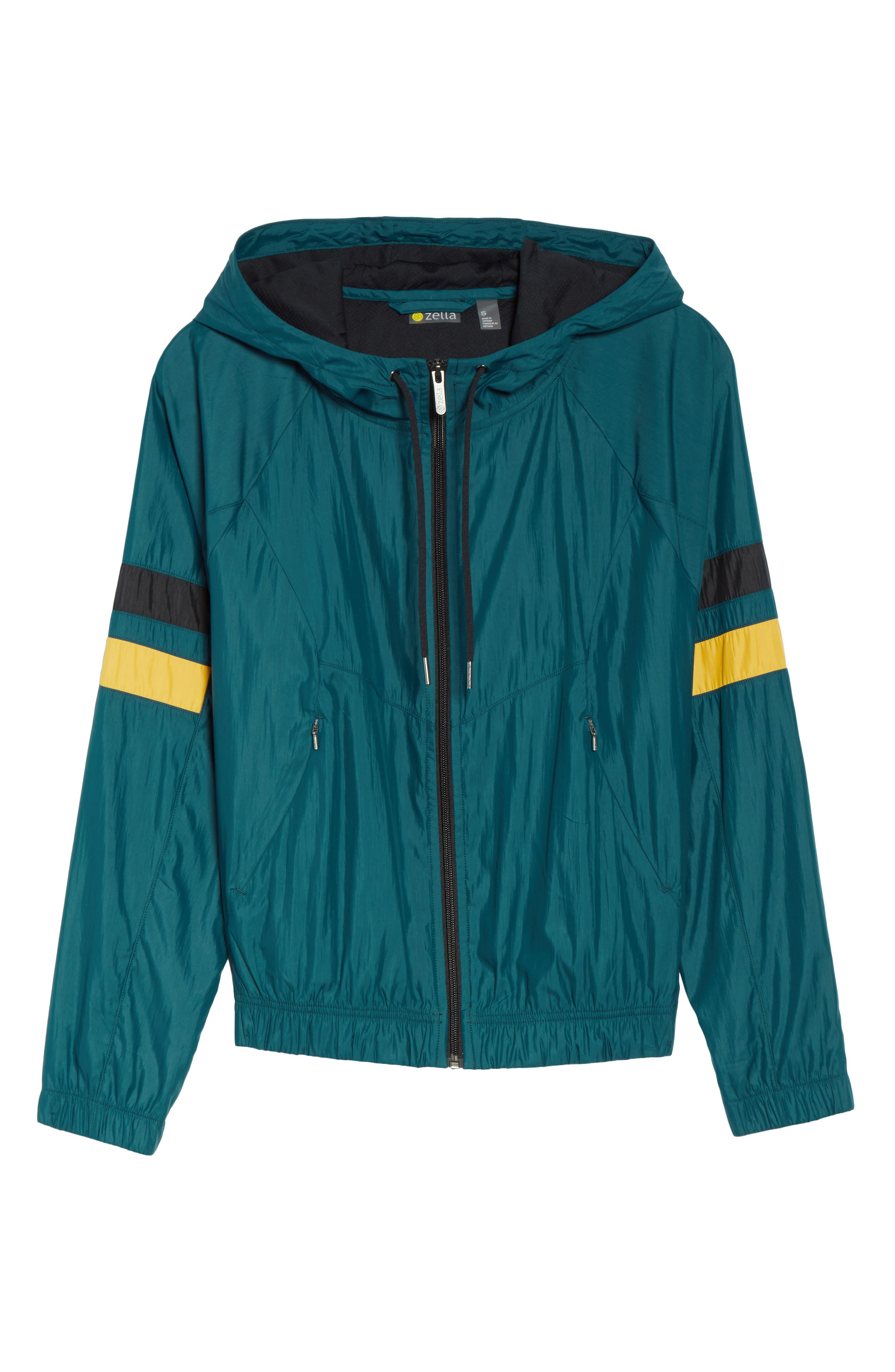 Style Game Colorblock Jacket,                             Alternate thumbnail 5, color,                             449