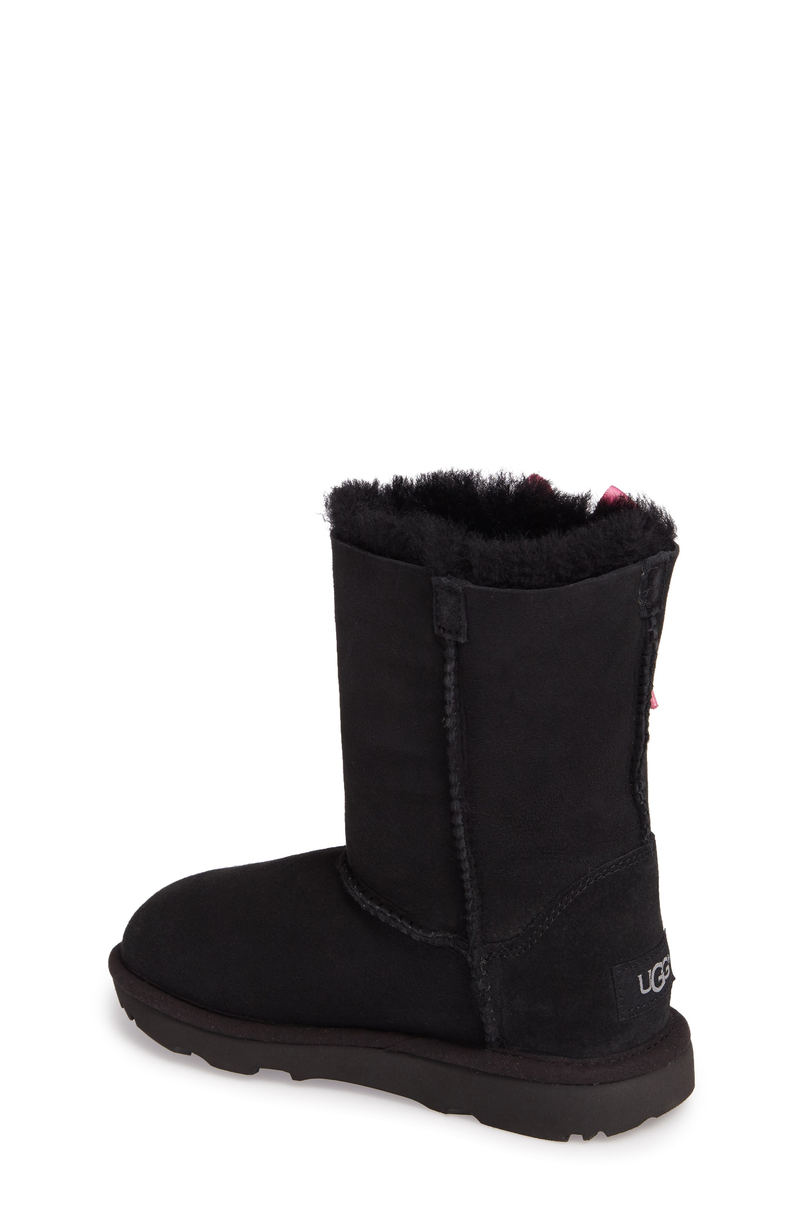 Pala Water-Resistant Genuine Shearling Boot,                             Alternate thumbnail 2, color,                             BLACK