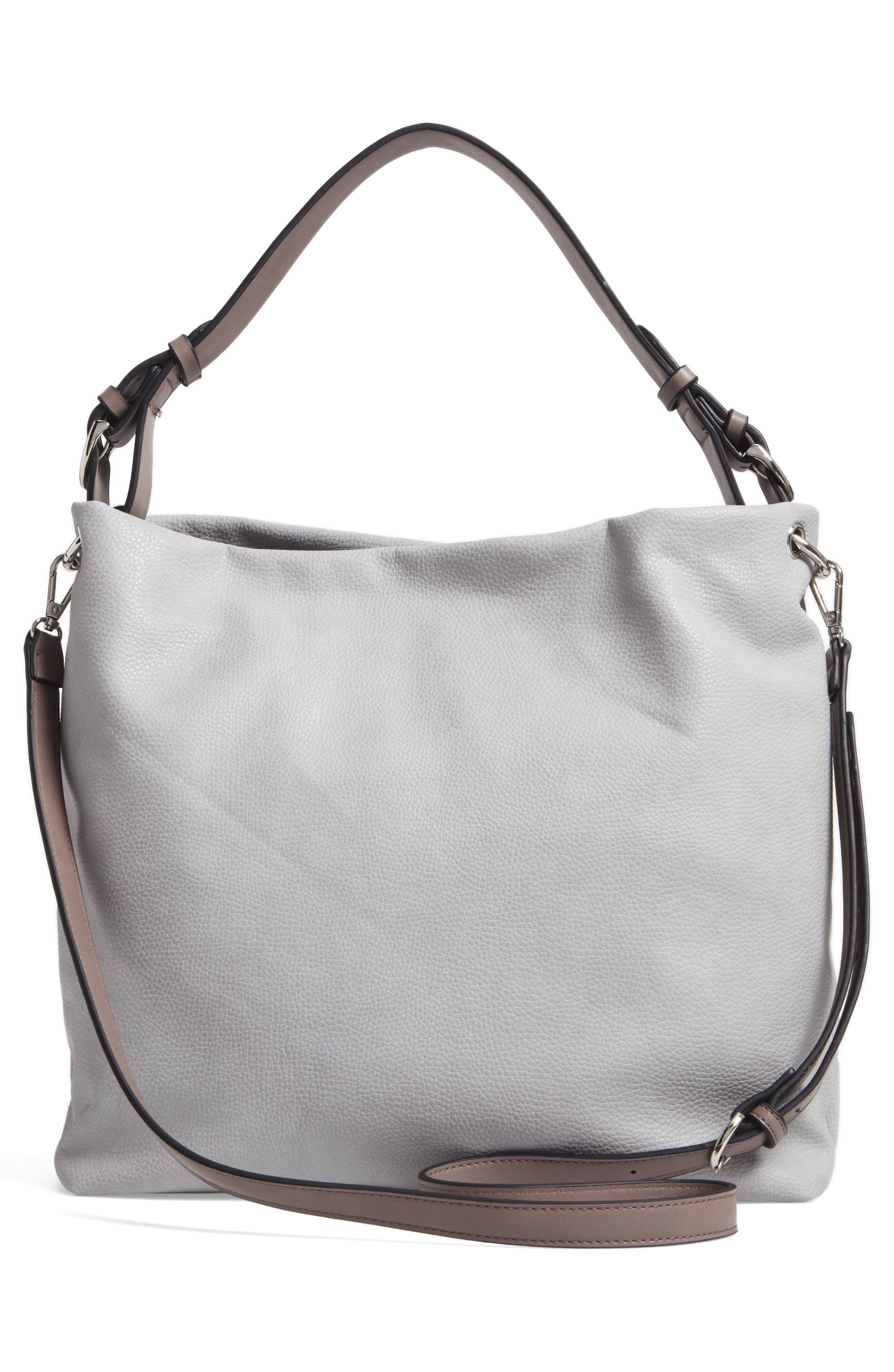 Taylor Faux Leather Shoulder Bag,                             Alternate thumbnail 8, color,