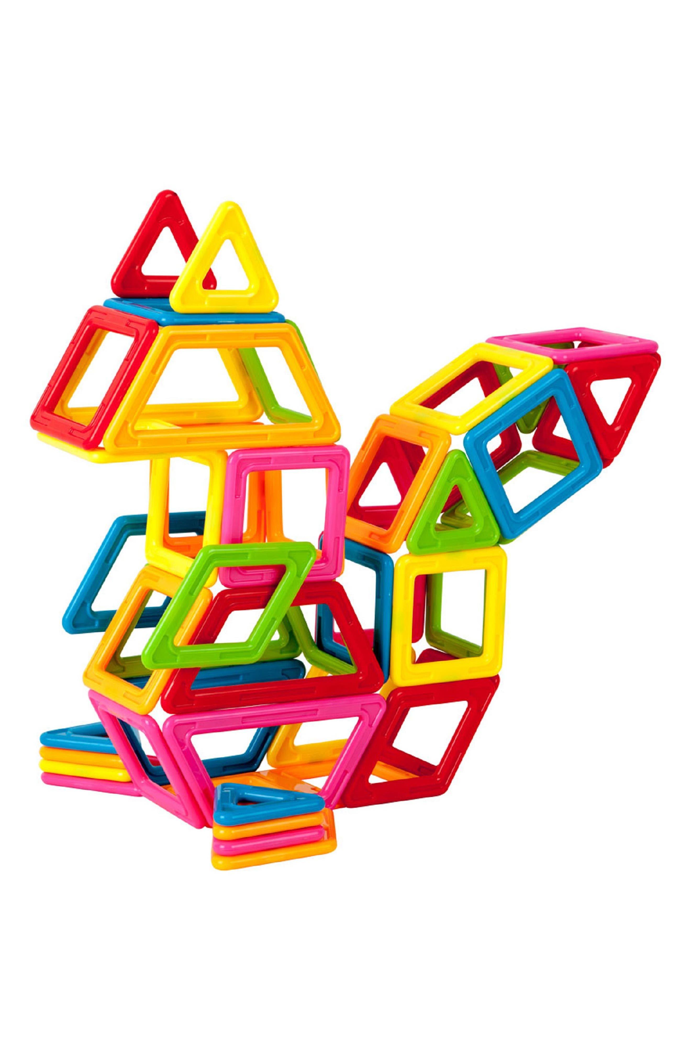 'My First' Magnetic Construction Set,                             Alternate thumbnail 2, color,                             Rainbow