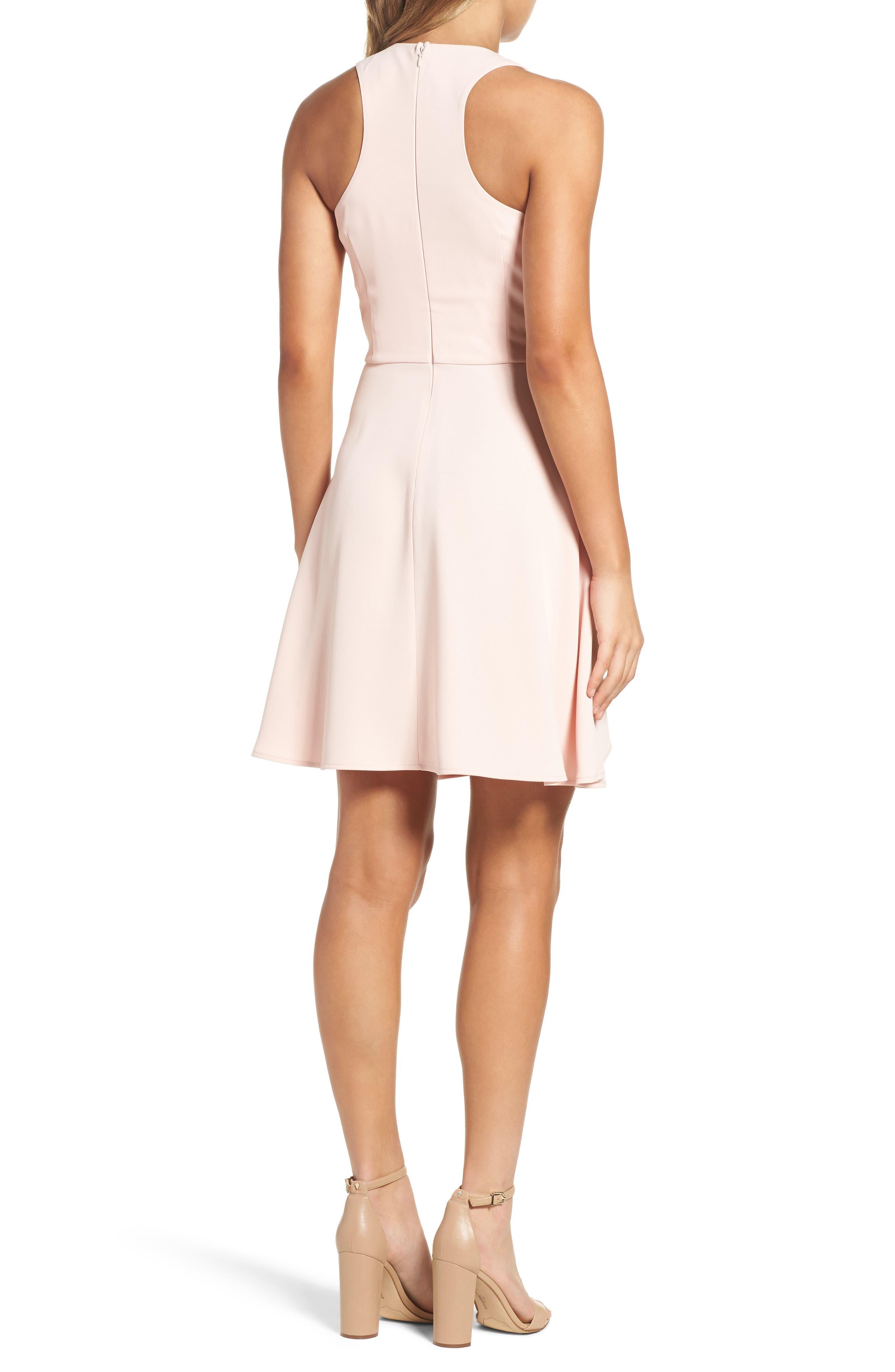 Athena Fit & Flare Dress,                             Alternate thumbnail 8, color,