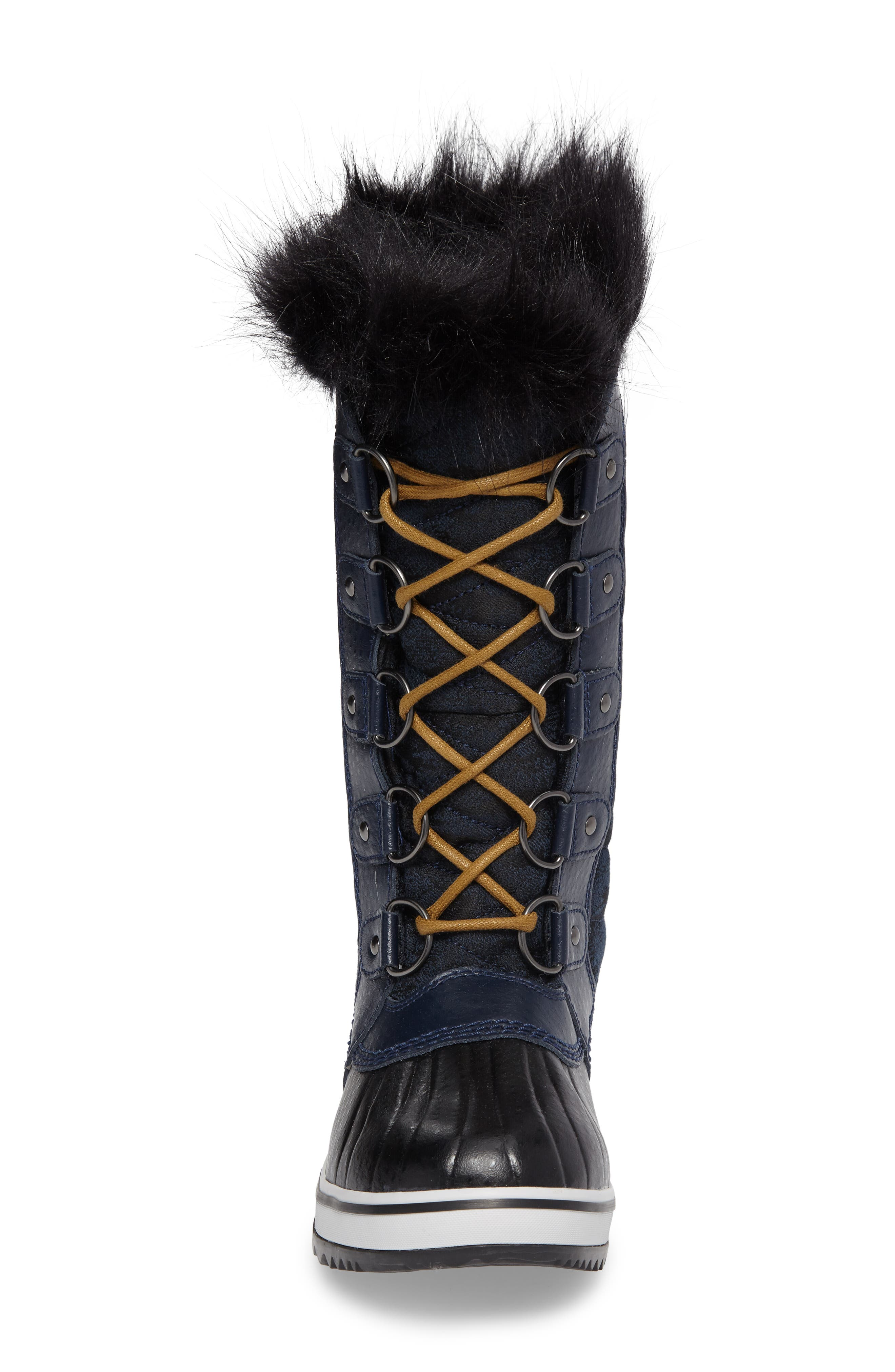 Tofino II Fleece Lined Waterproof Boot,                             Alternate thumbnail 4, color,