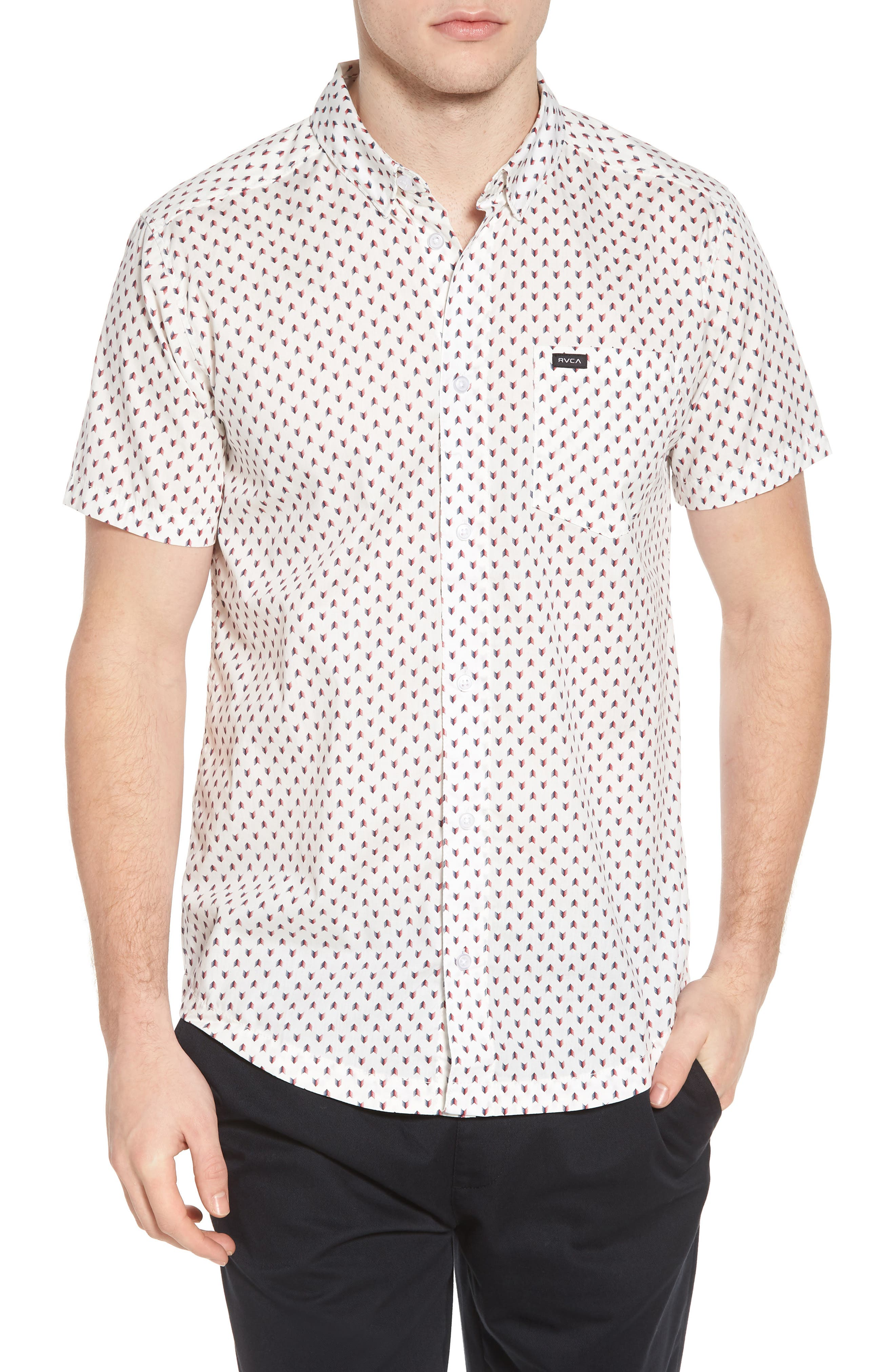 Arrowed Woven Shirt,                             Main thumbnail 2, color,