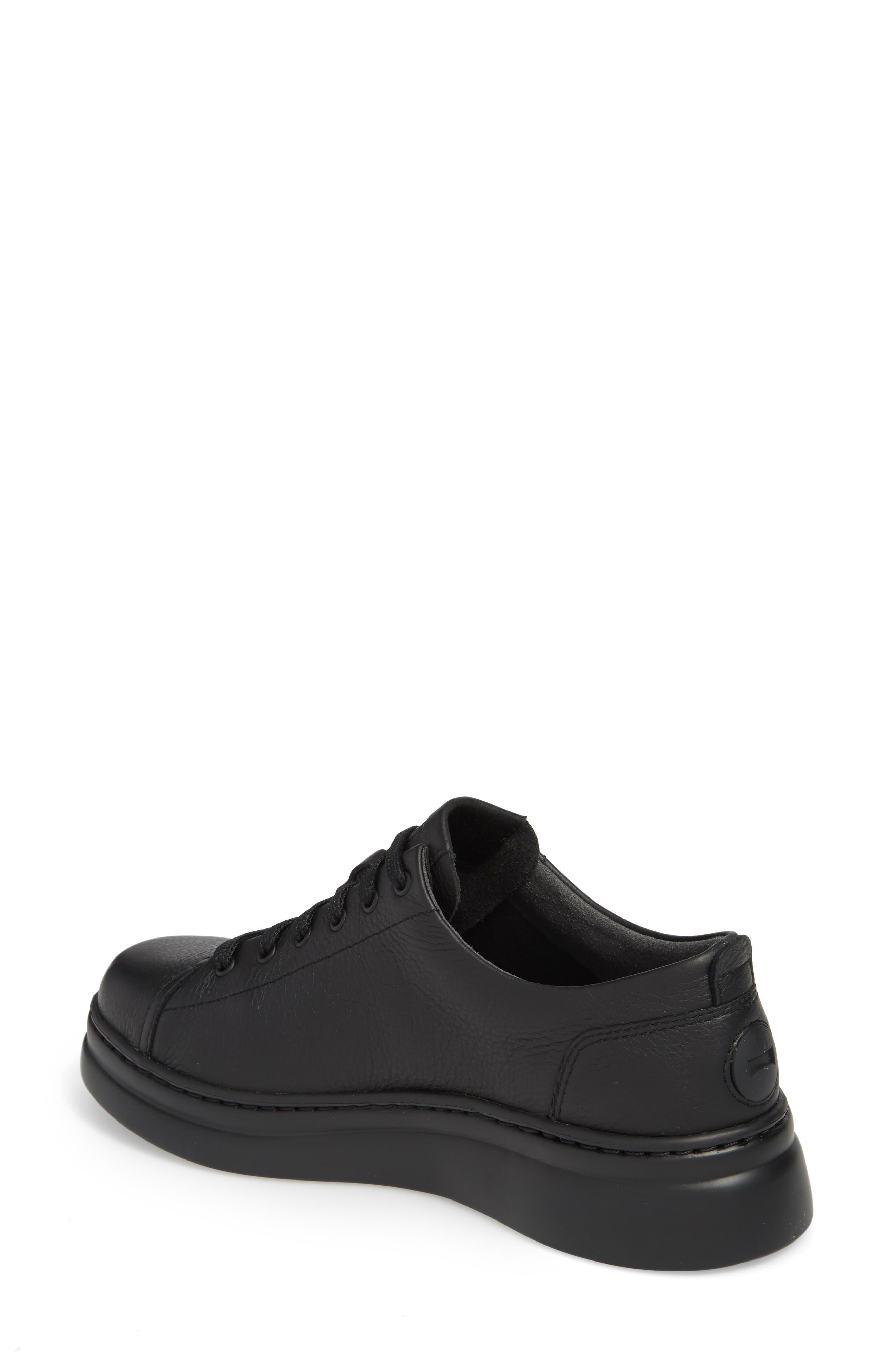 Runner Up Sneaker,                             Alternate thumbnail 2, color,                             BLACK LEATHER