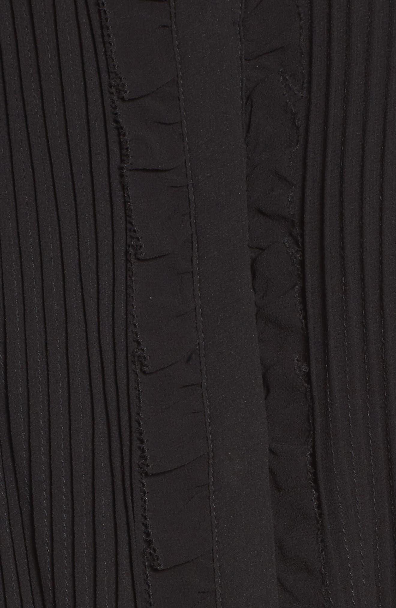 Ami Maxi Dress,                             Alternate thumbnail 5, color,                             001