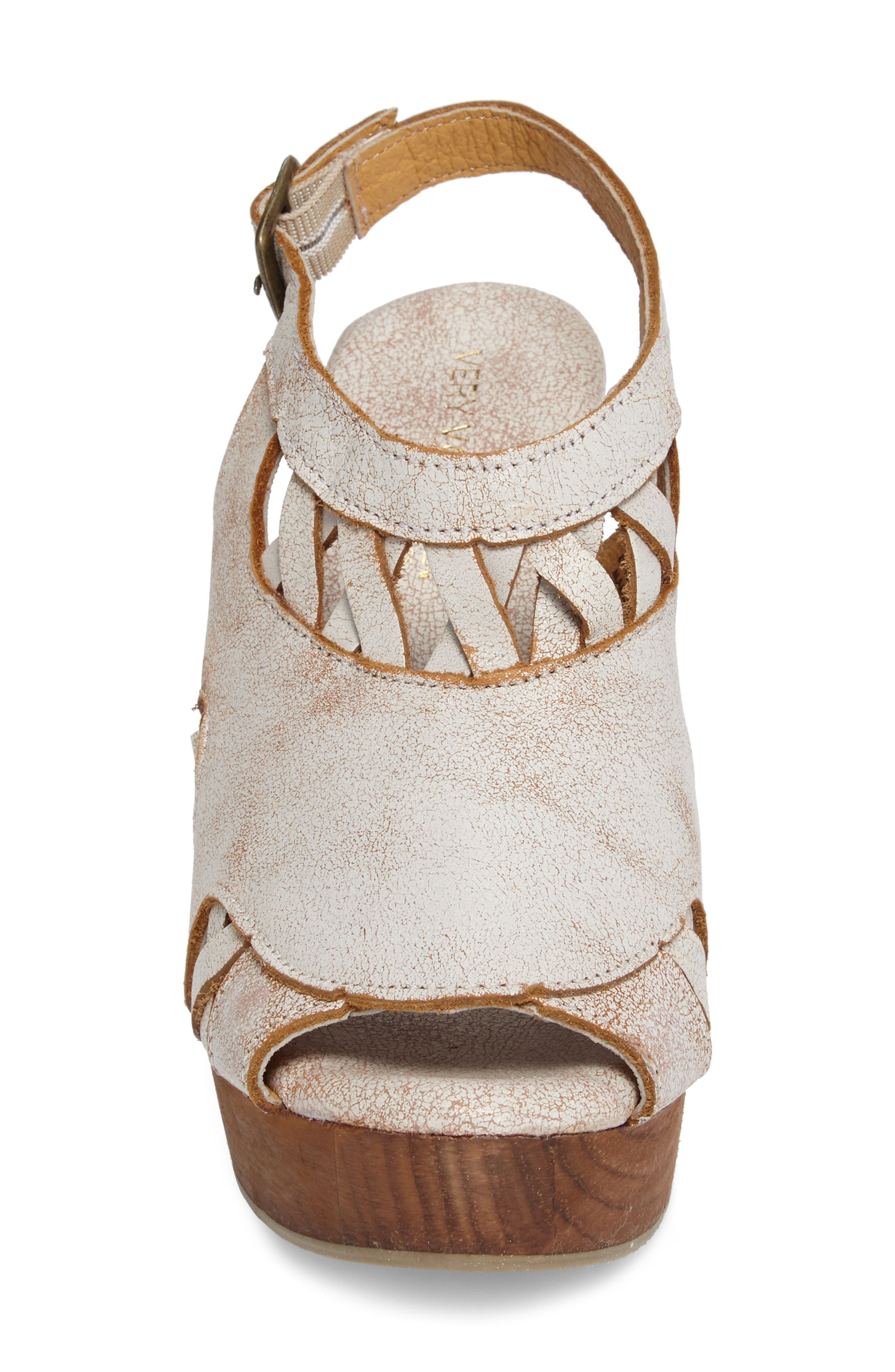 Sloane Platform Wedge Sandal,                             Alternate thumbnail 8, color,