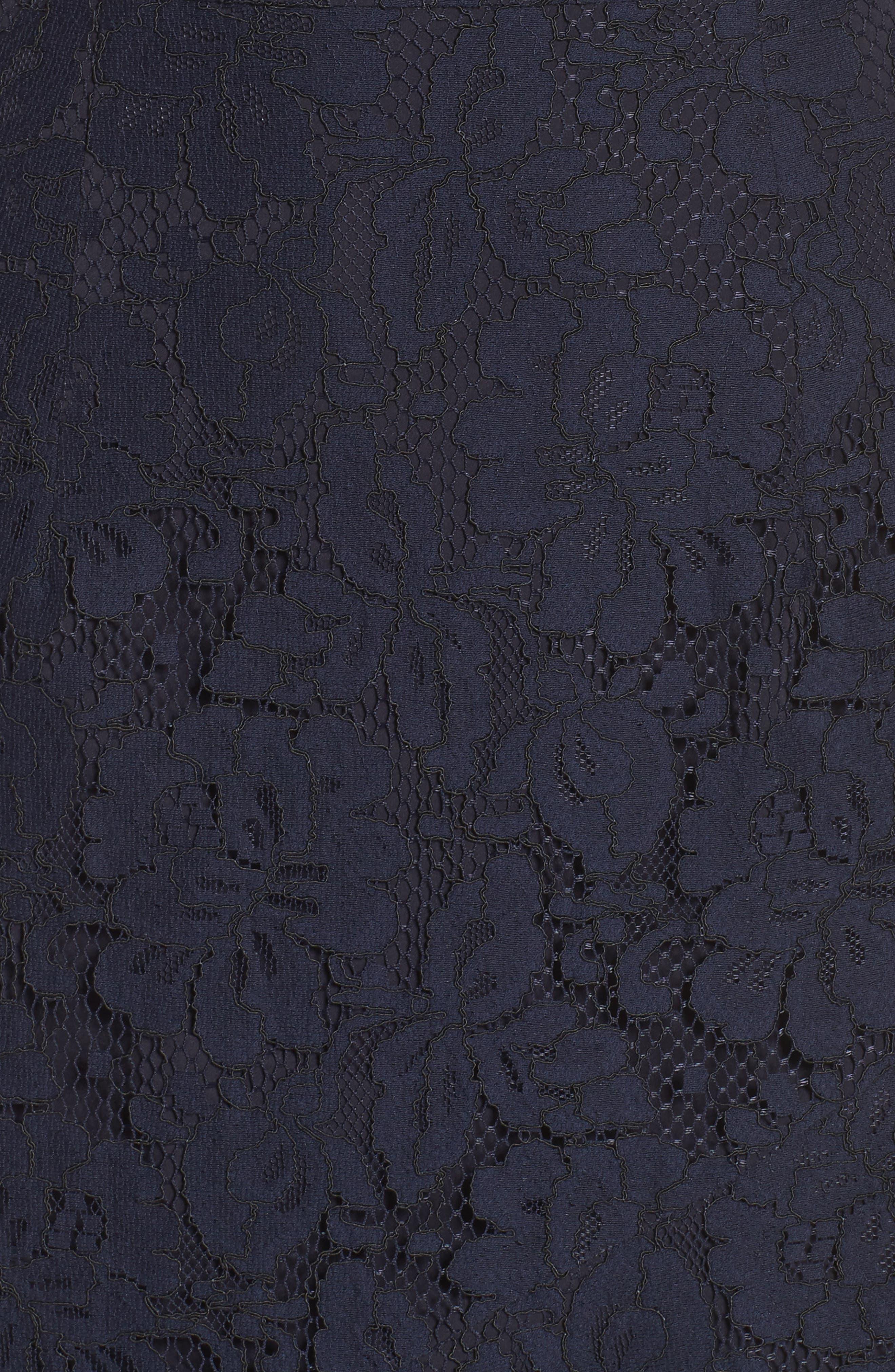Soho Lace Midi Dress,                             Alternate thumbnail 5, color,                             400