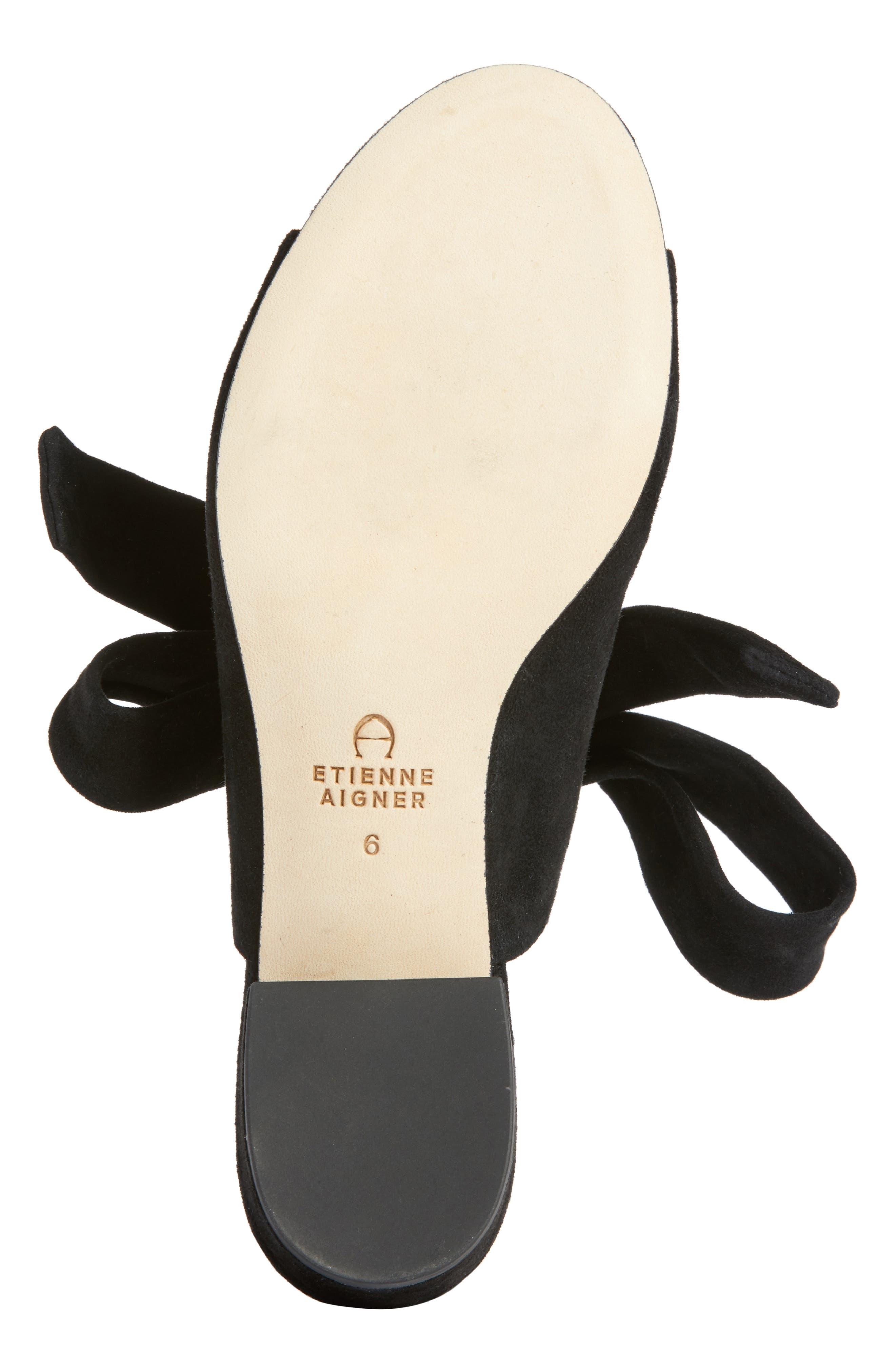 Bermuda Sandal,                             Alternate thumbnail 6, color,                             BLACK SUEDE