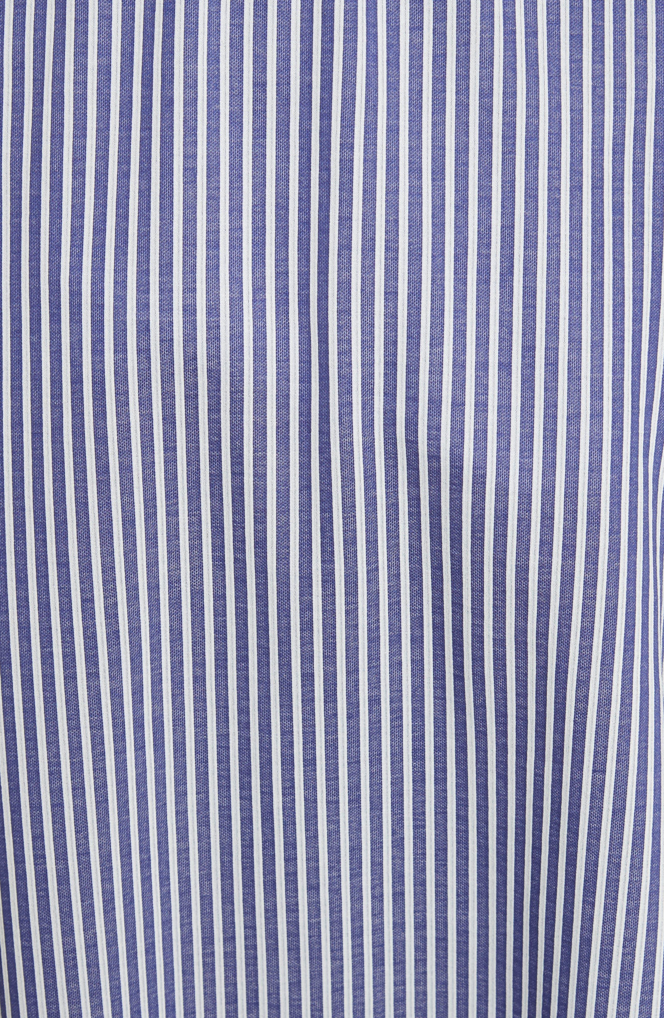 Cody Stripe Asymmetrical Skirt,                             Alternate thumbnail 5, color,