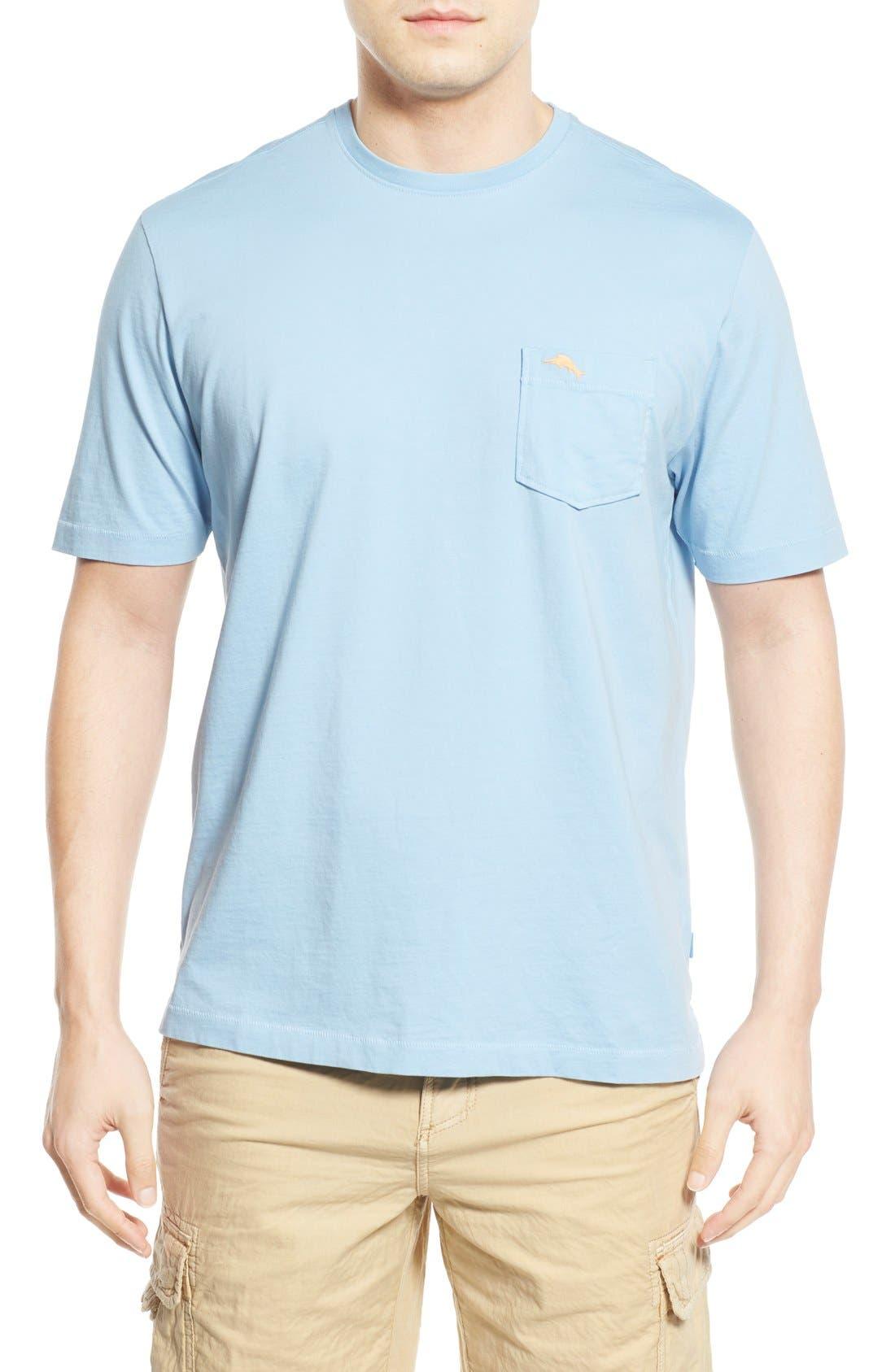 New Bali Sky Pima Cotton Pocket T-Shirt,                             Main thumbnail 32, color,