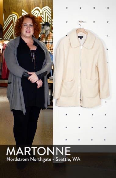 Zip Front Teddy Coat, sales video thumbnail