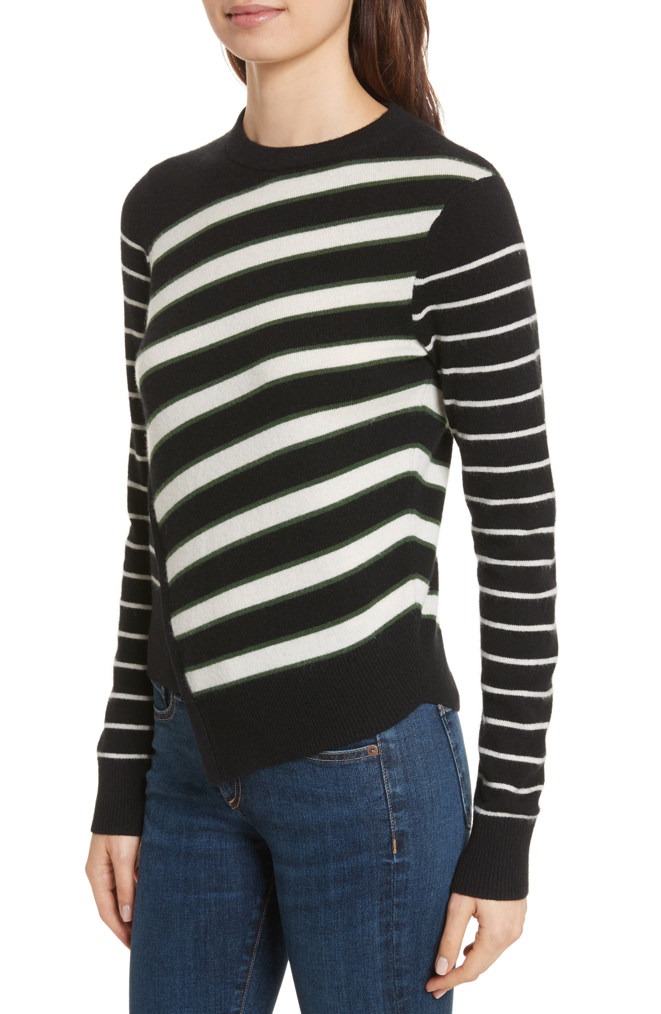 Pepper Cashmere Sweater,                             Alternate thumbnail 4, color,                             007