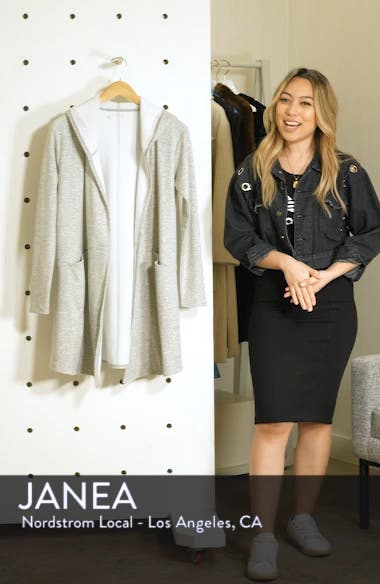 Plush Lined Wrap Hooded Jacket, sales video thumbnail
