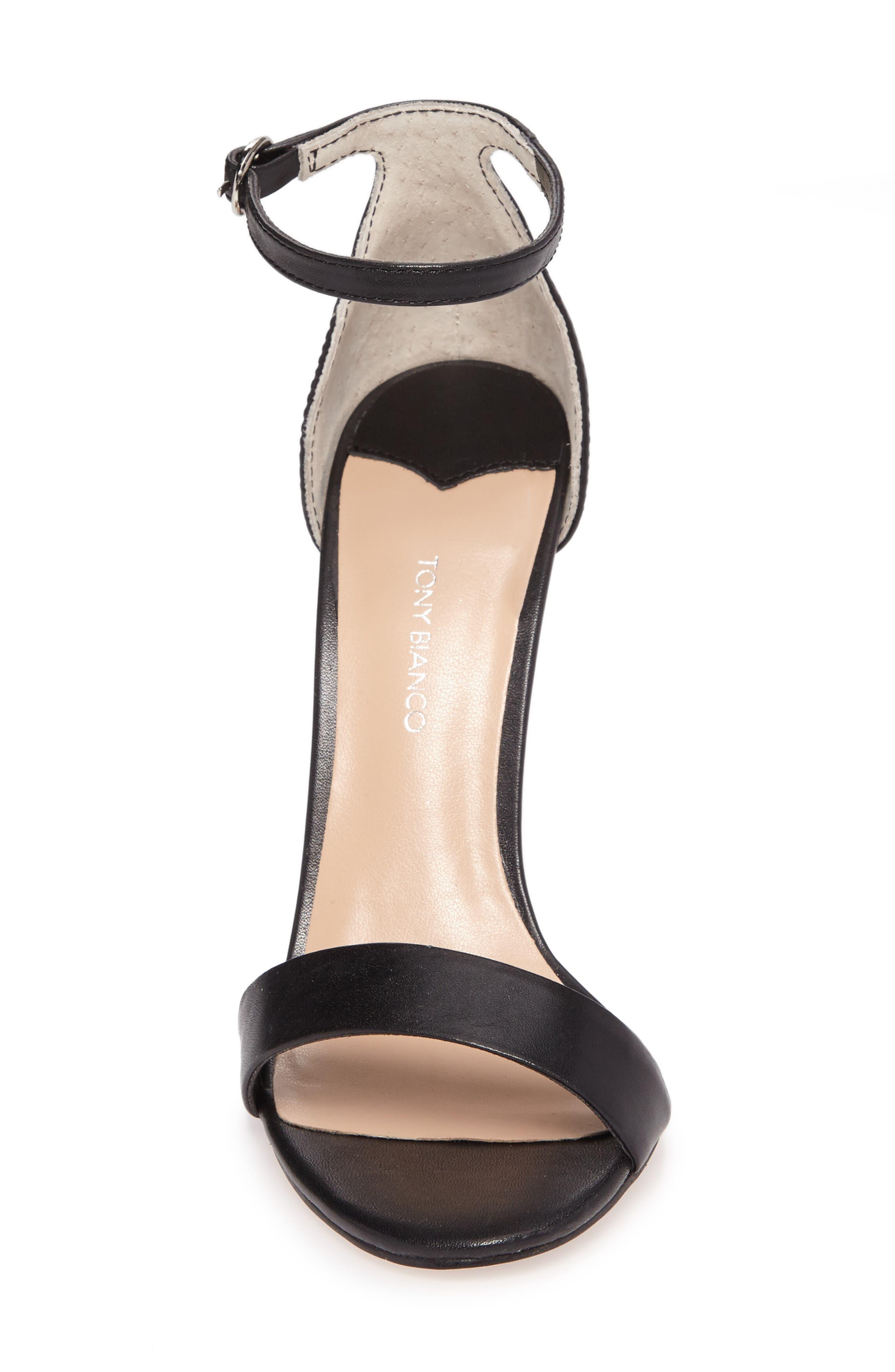 Karvan Ankle Strap Sandal,                             Alternate thumbnail 4, color,                             002