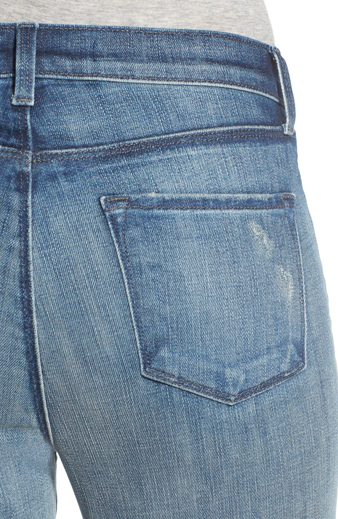 Alana Crop Skinny Jeans,                             Alternate thumbnail 4, color,