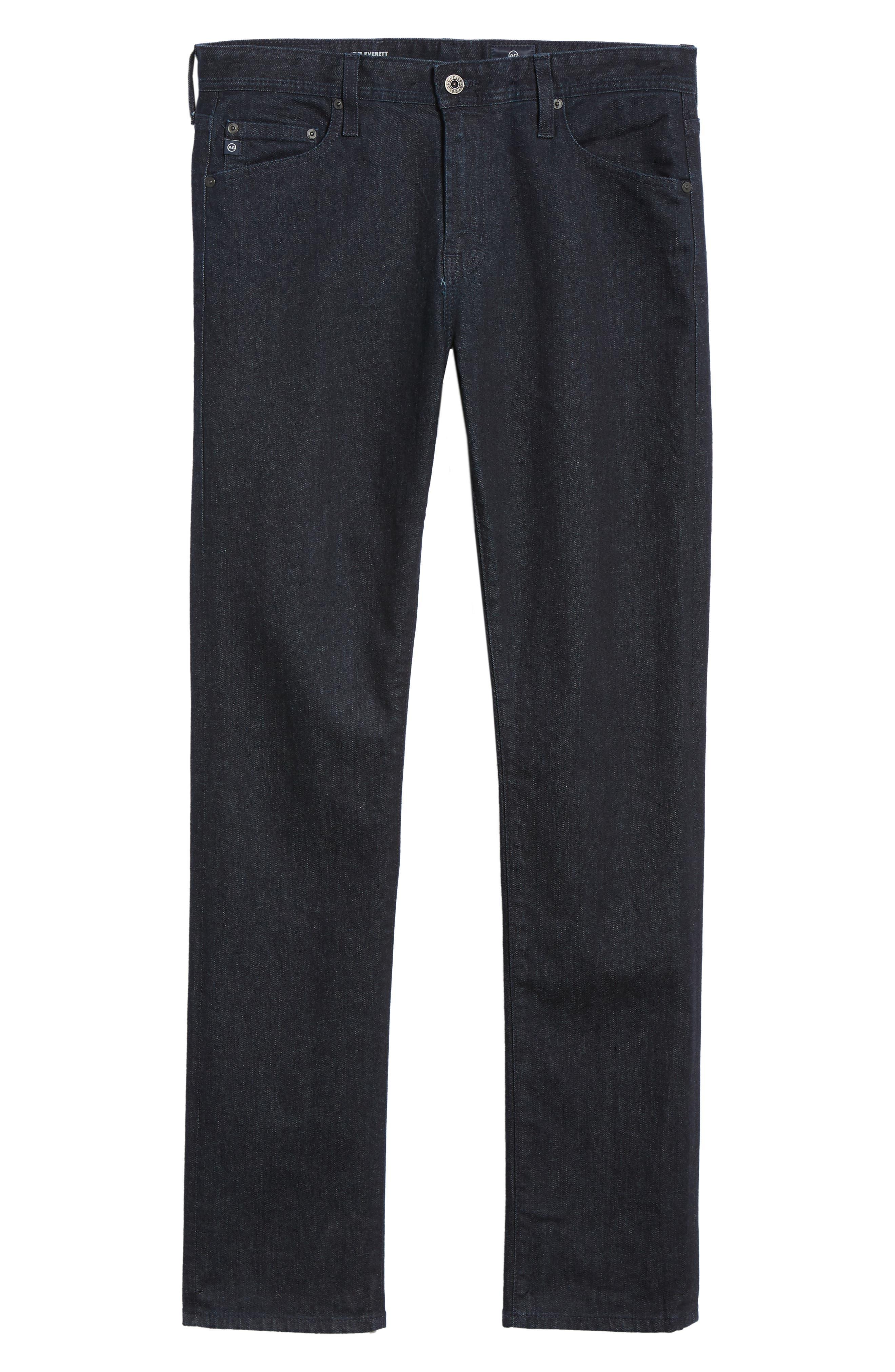 Everett Slim Straight Leg Jeans,                             Alternate thumbnail 6, color,                             BARNES