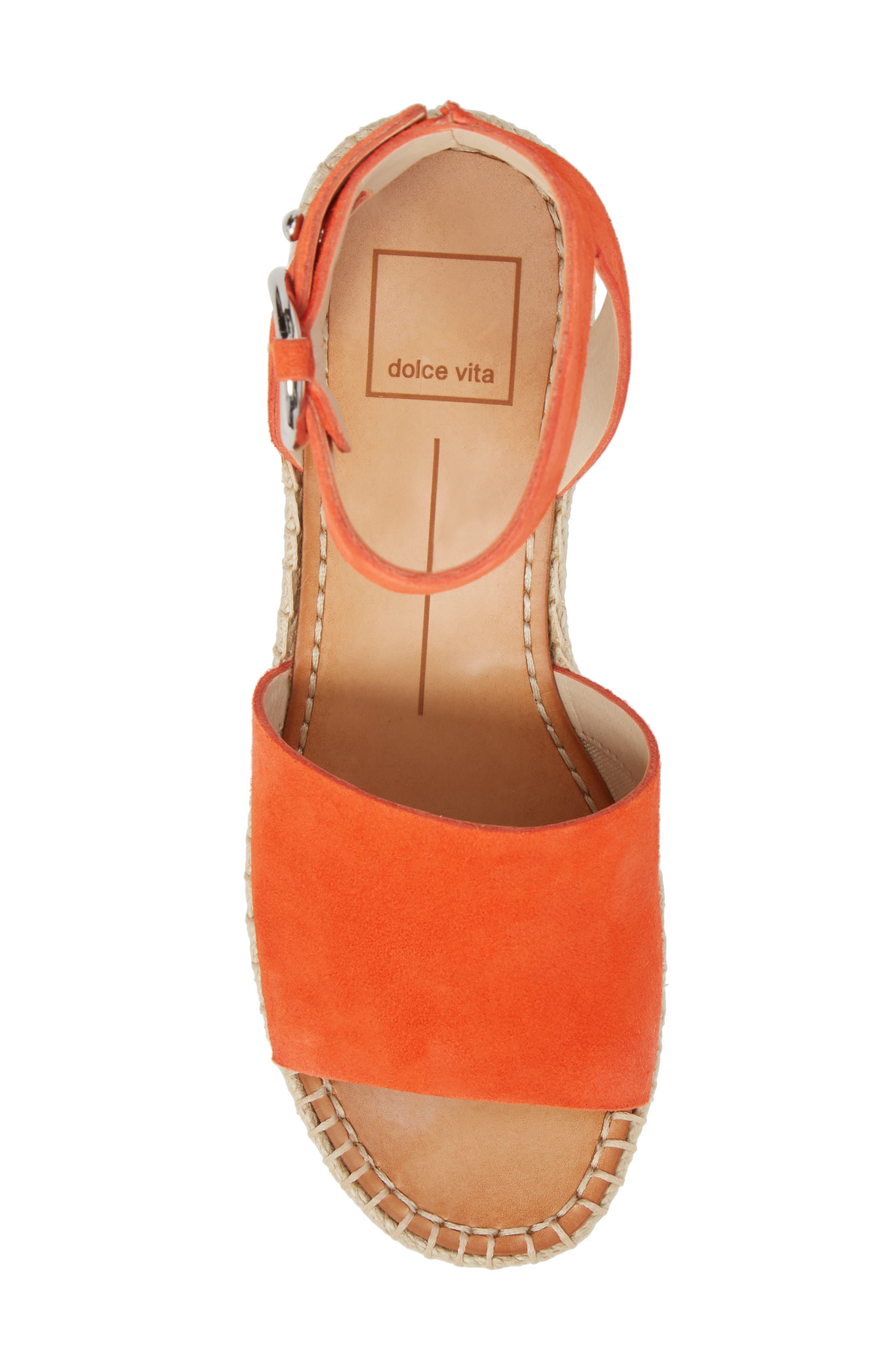 Lesly Espadrille Platform Sandal,                             Alternate thumbnail 34, color,
