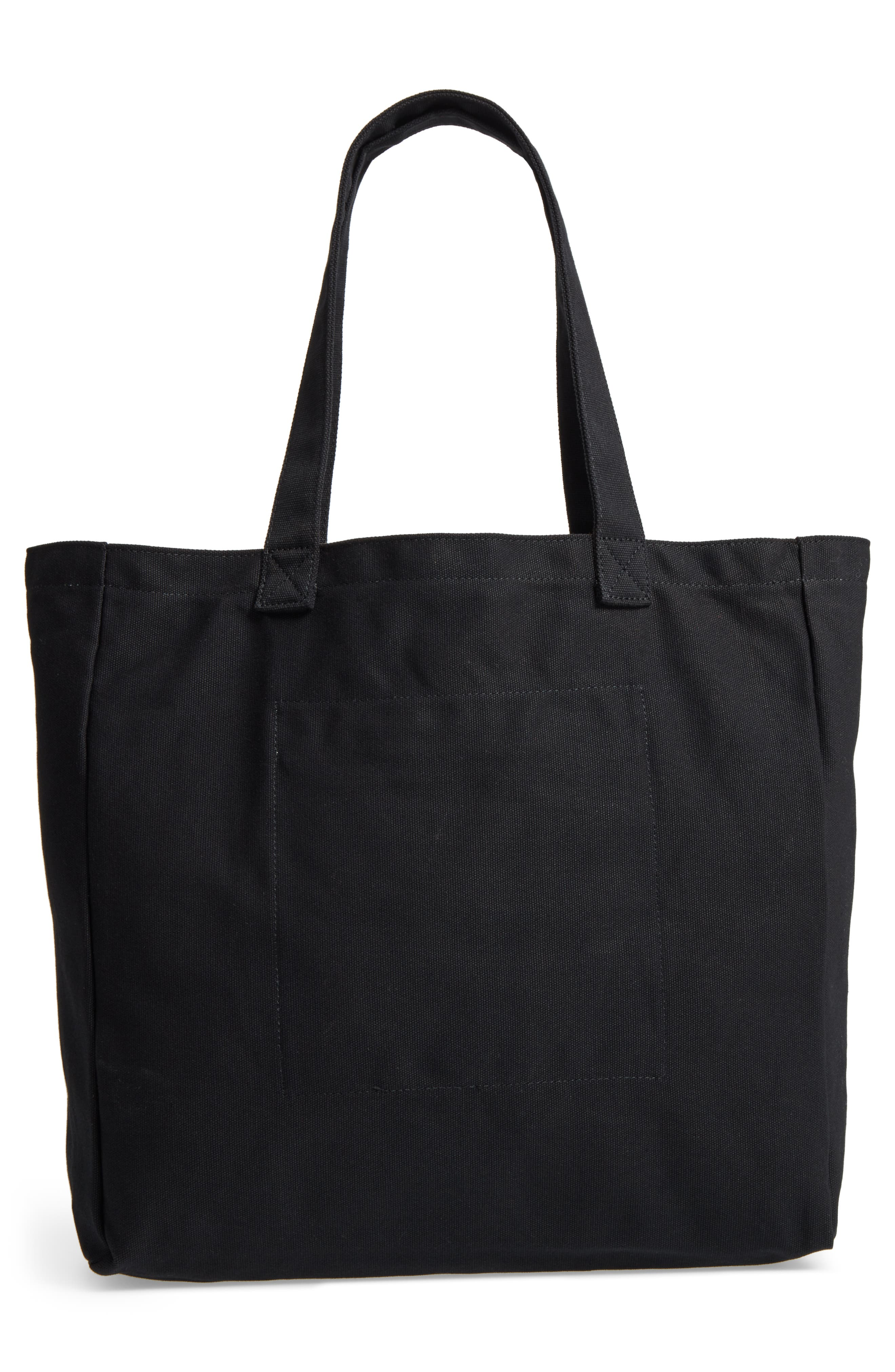 Oversized Canvas Tote,                             Alternate thumbnail 8, color,