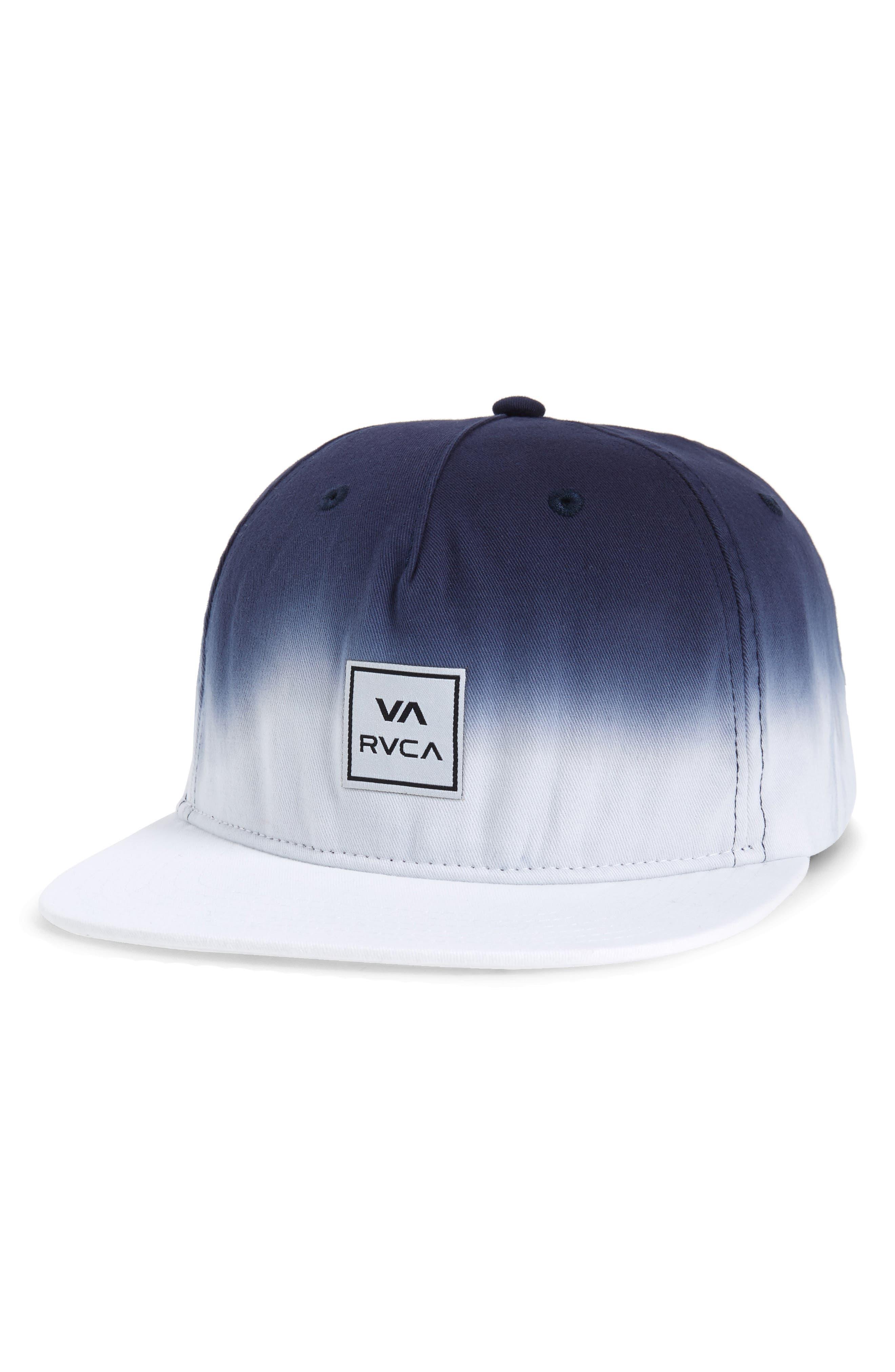 Dip Snapback Baseball Cap,                             Main thumbnail 1, color,                             WHITE/ BLUE